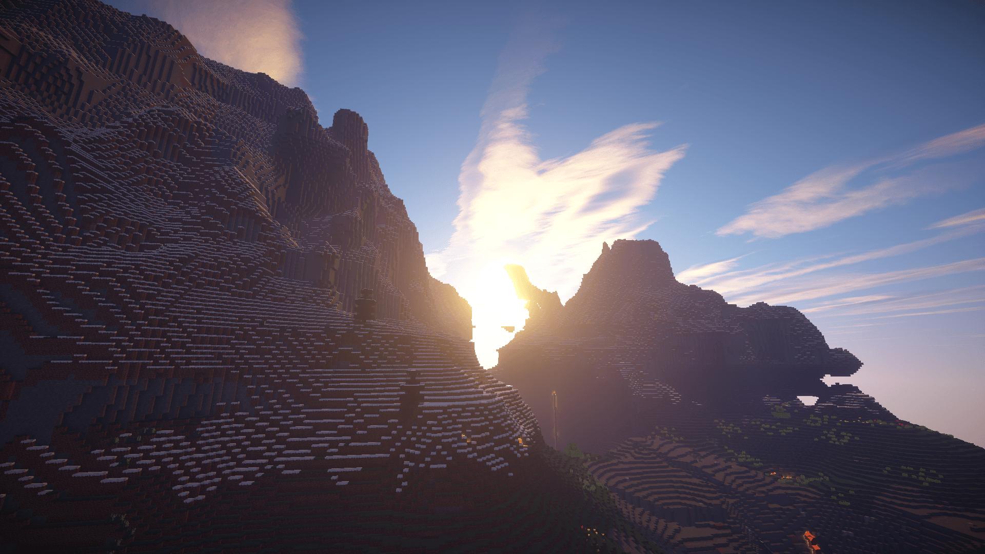 Minecraft HD Shader Wallpapers Blog