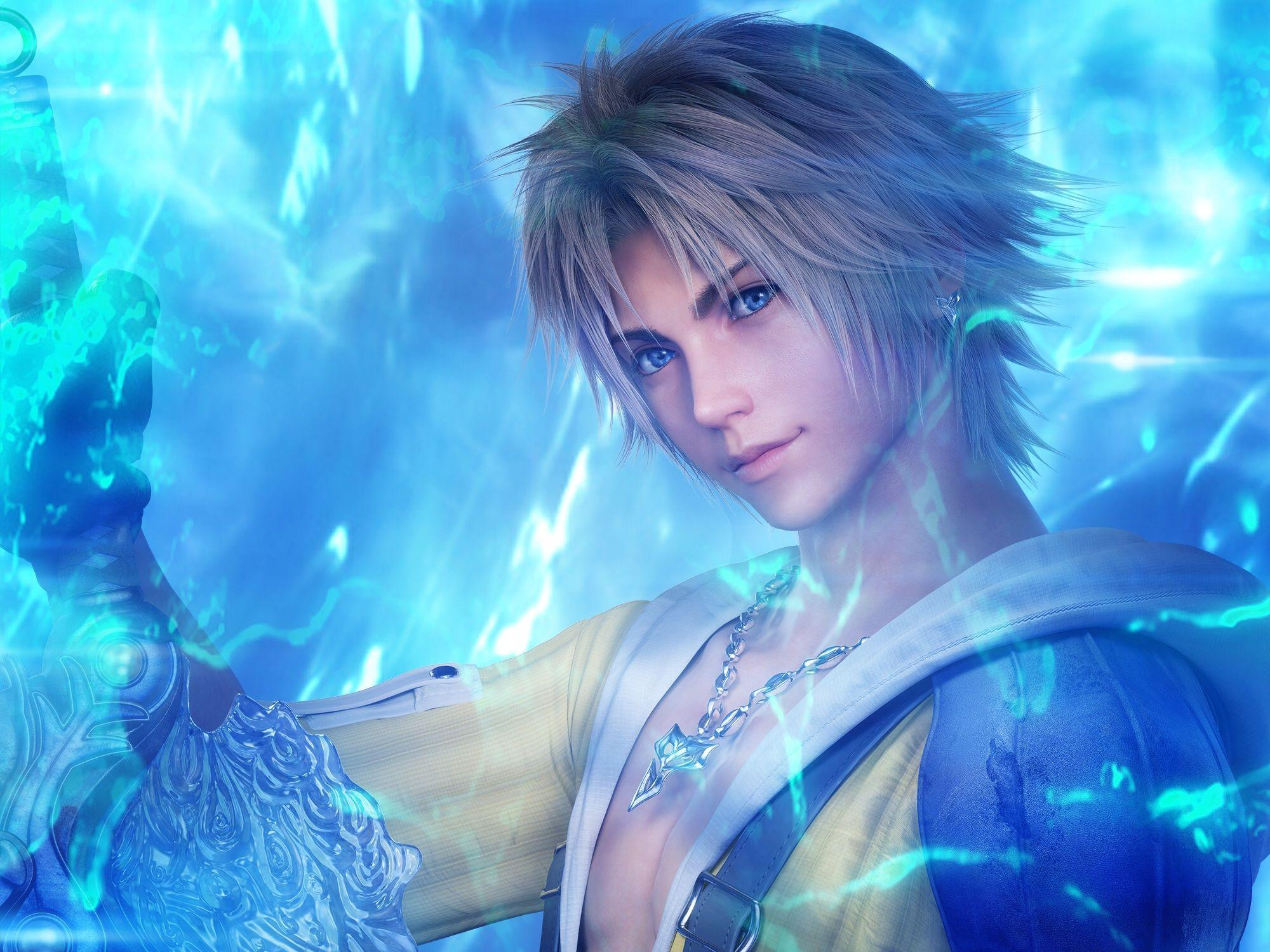 final fantasy x hd wallpapers tidus - wallpaper cave