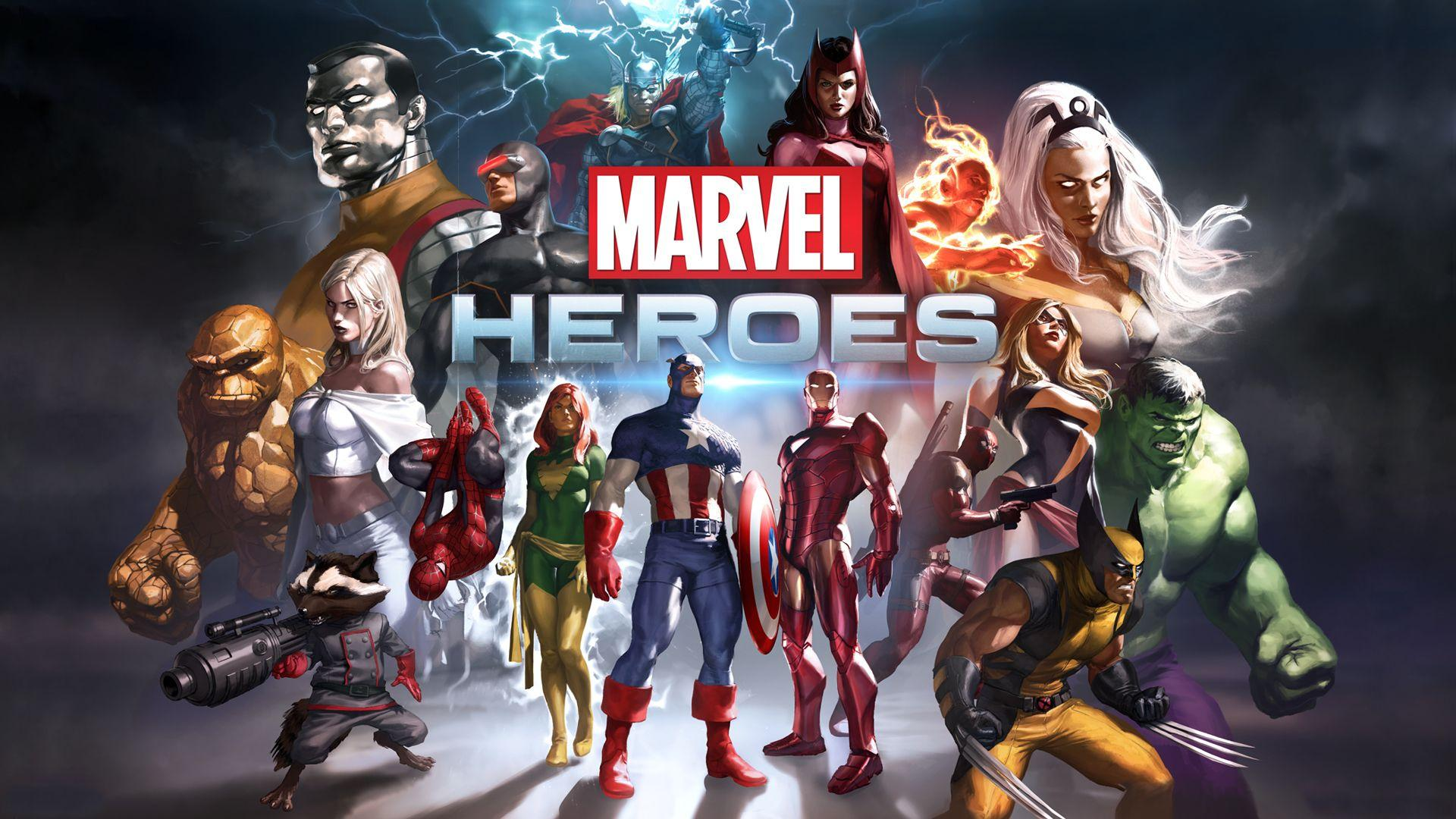 Marvel Heroes Wallpapers Hd Wallpaper Cave