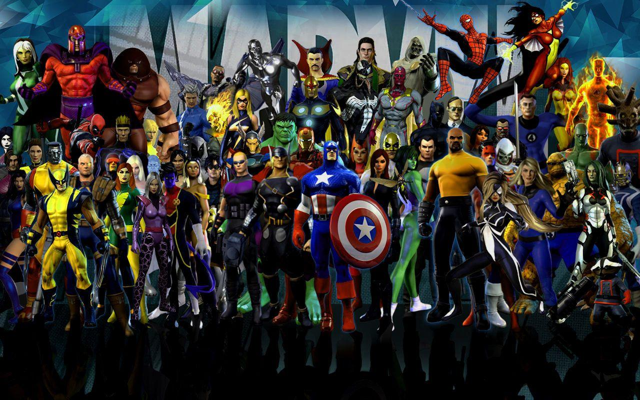 Marvel Heroes Hd Wallpapers Wallpaper Cave