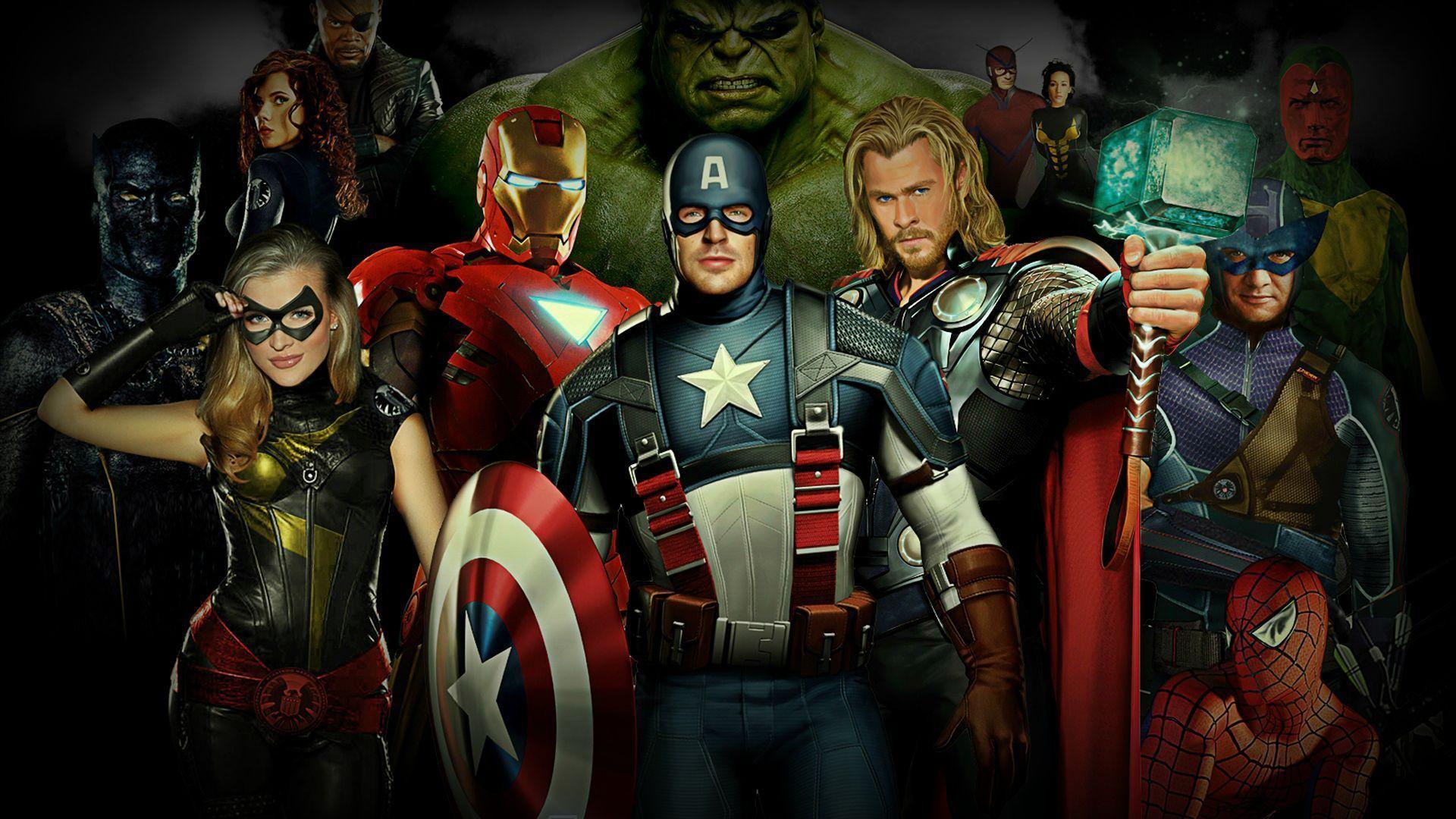 Marvel Super Heroes Wallpapers Hd Wallpaper Cave