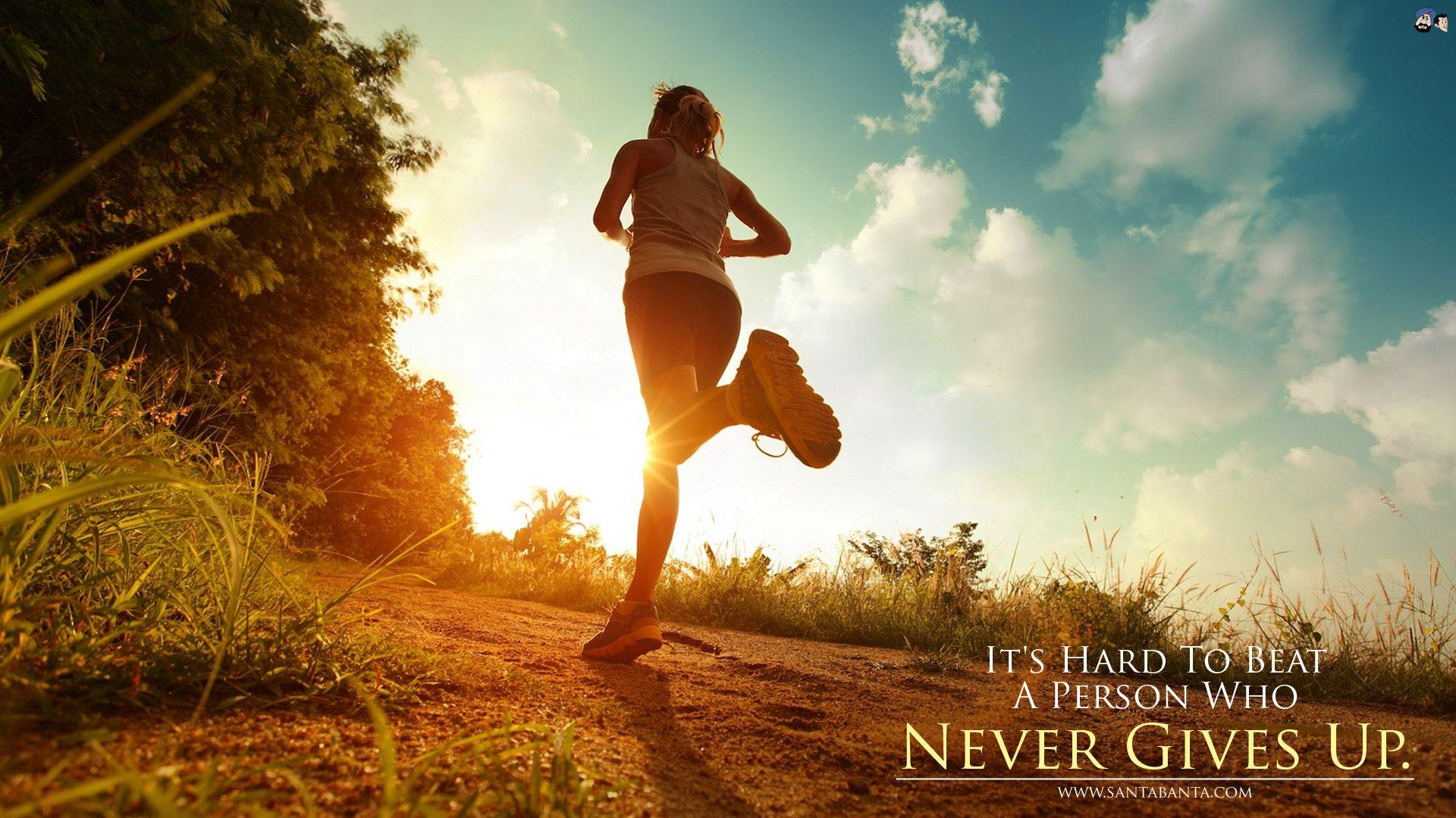 Never Give Up Wallpapers Wallpaper Cave
