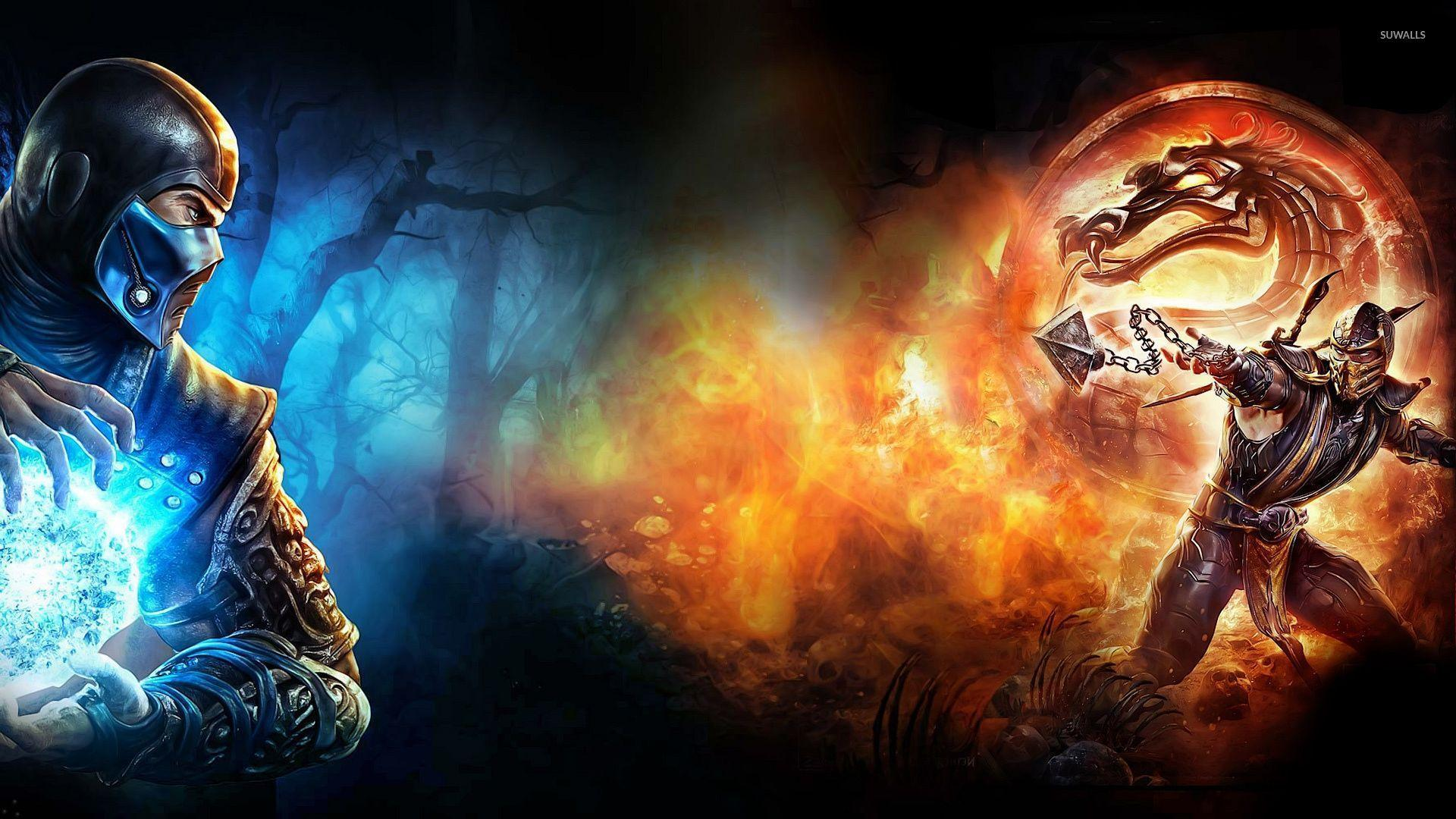 Mortal Kombat Scorpion Vs Sub Zero Wallpapers Wallpaper Cave