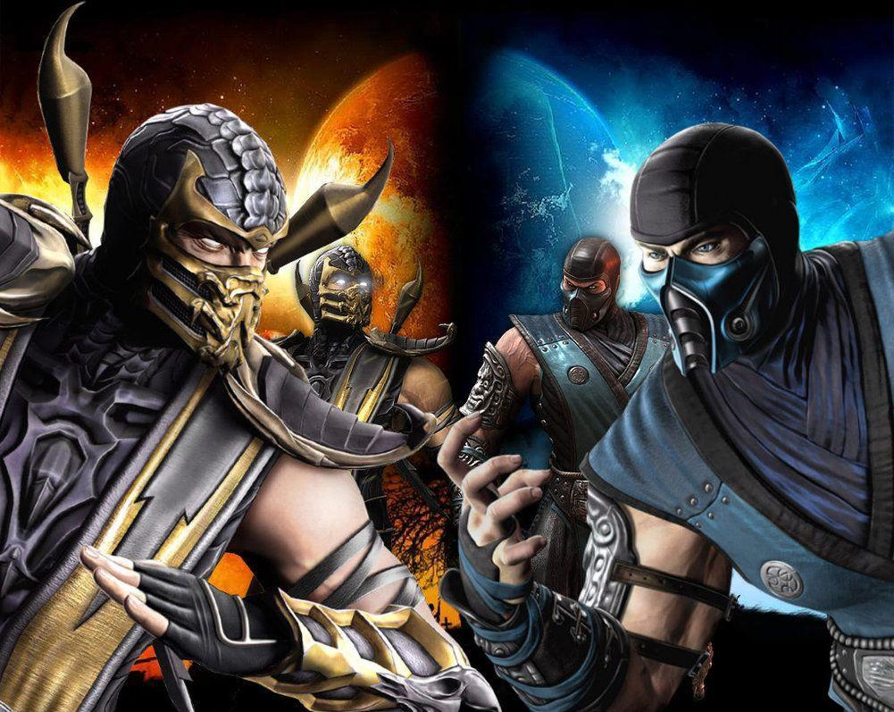 Scorpion Vs Sub Zero Mortal Kombat 9 Wallpapers Mobil Wallpaper Cave