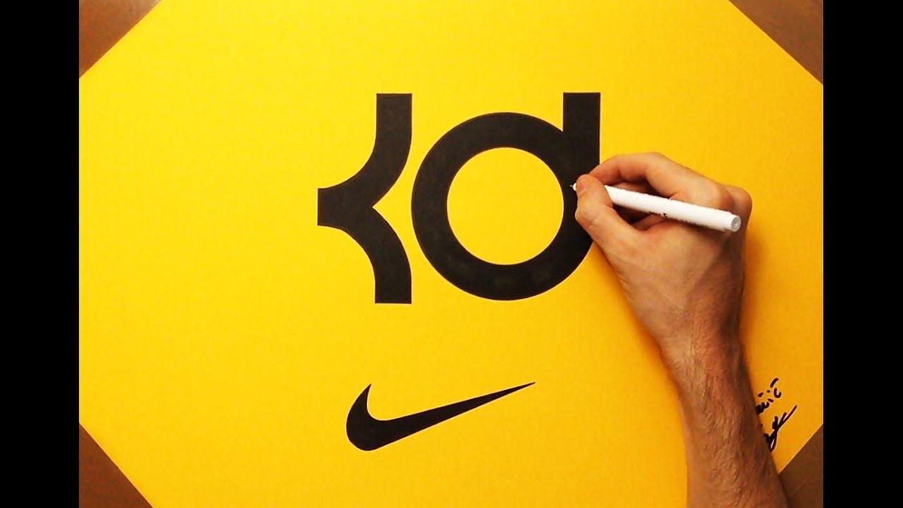 How to Draw the KD Logo Kevin Durant NBA Nike