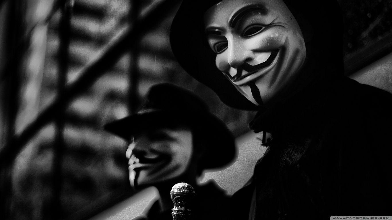 Anonymous Wallpapers Hd 1366x768 Wallpaper Cave