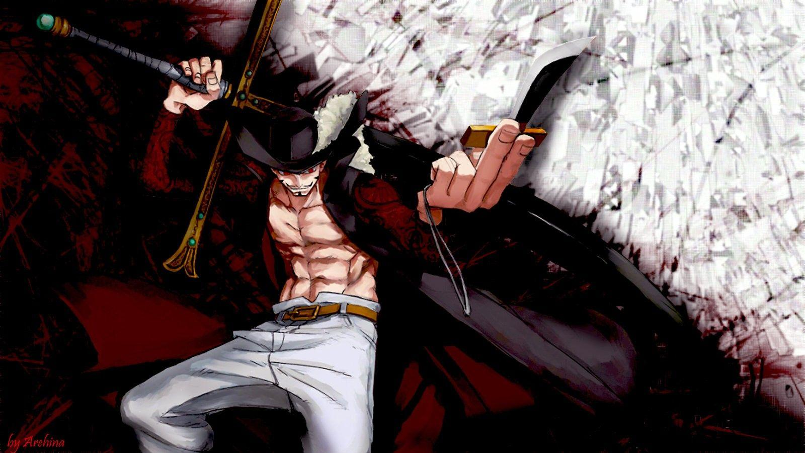 Dracule Mihawk, One Piece