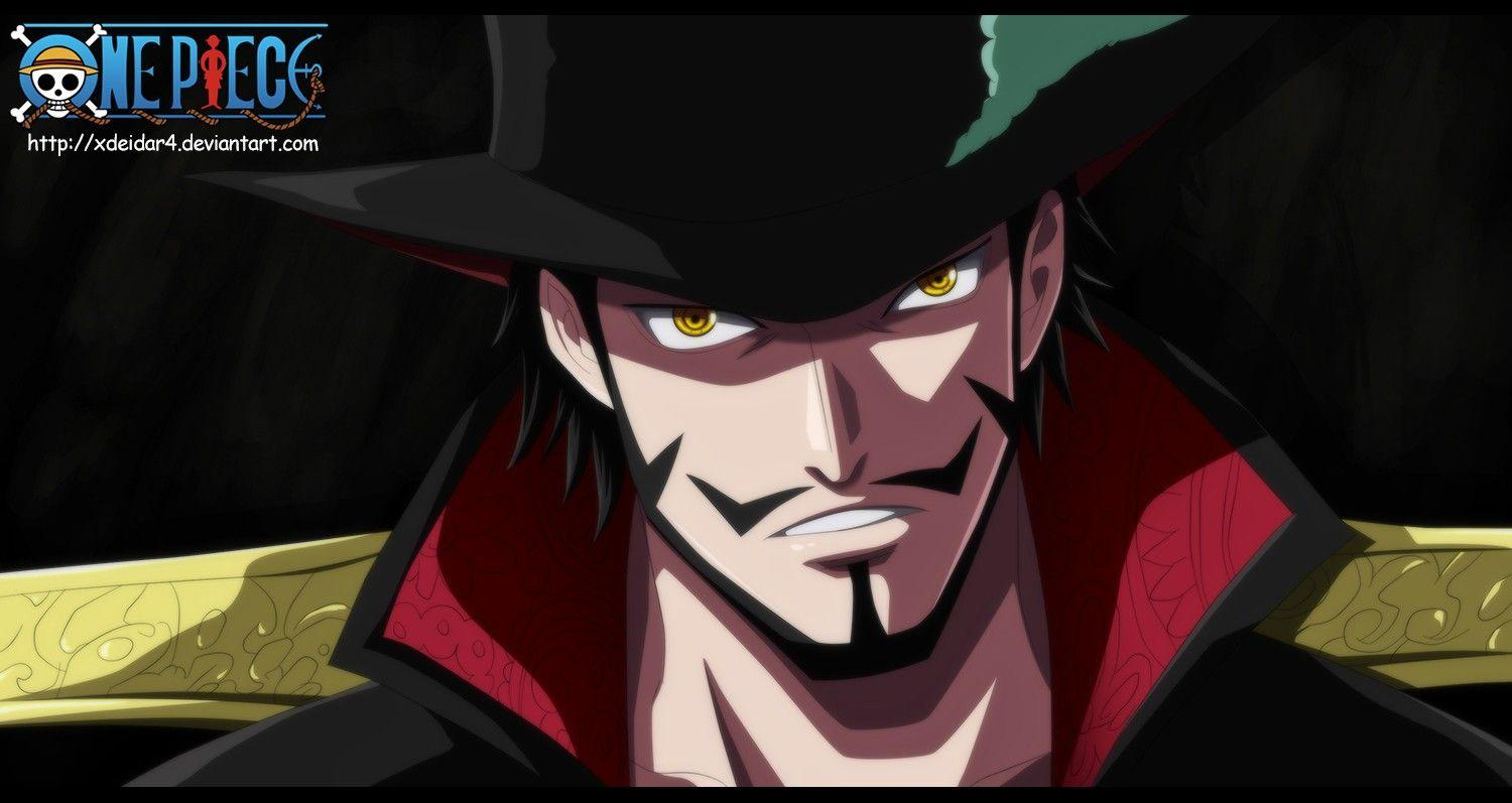 Wallpapers : illustration, anime, One Piece, Dracule Mihawk
