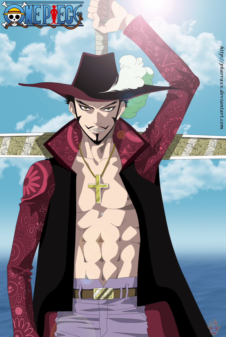 Wallpapers Dracule Mihawk by R