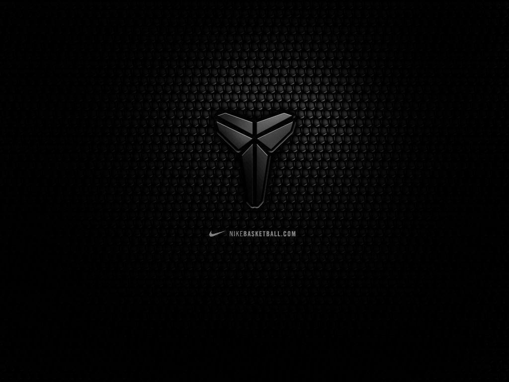 size 40 81431 3bd50 kobe bryant logo black 5 HD Wallpaper   Basketball Wallpapers   All ..