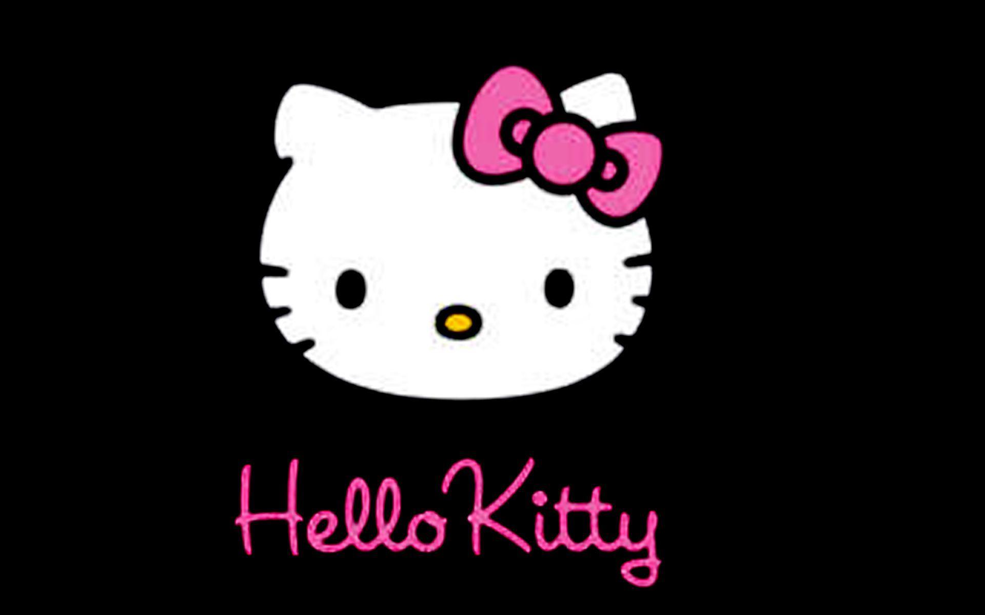 Kitty Hello zebra wallpaper