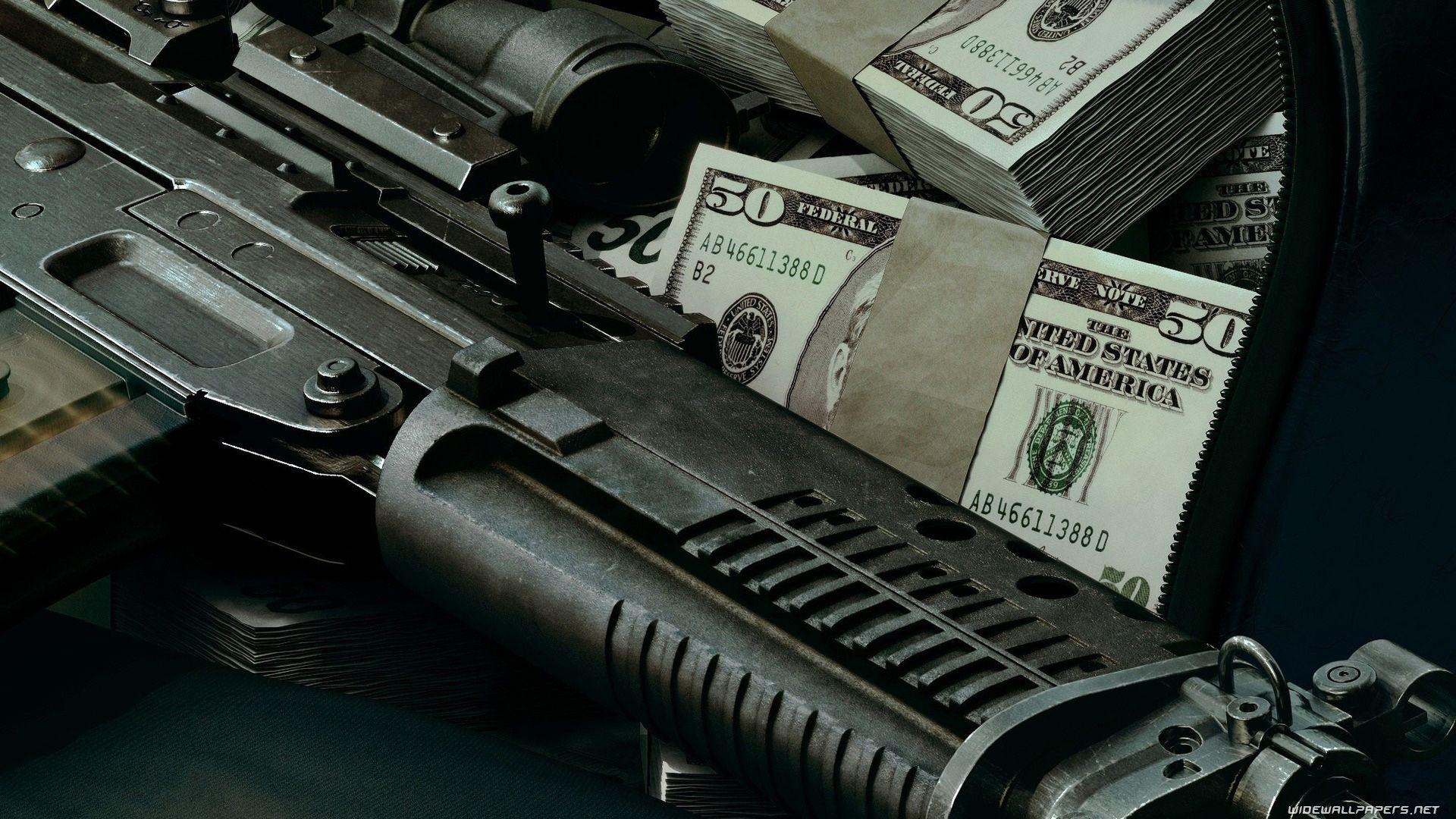 Guns And Money Wallpapers Wallpaper Cave