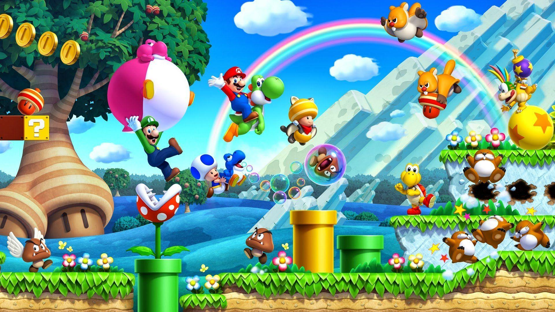 Super Mario Bros. Wallpapers