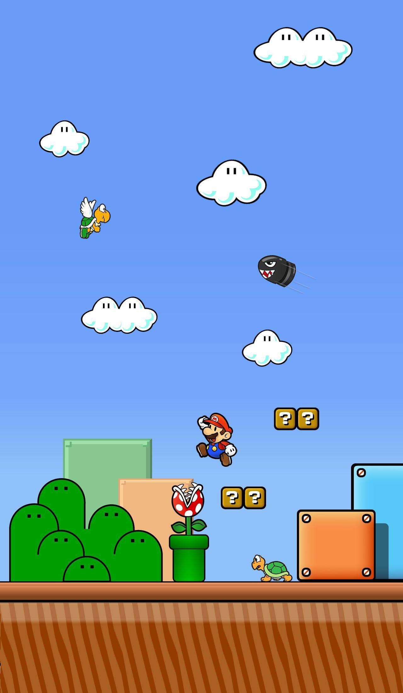 Super Mario World Wallpapers