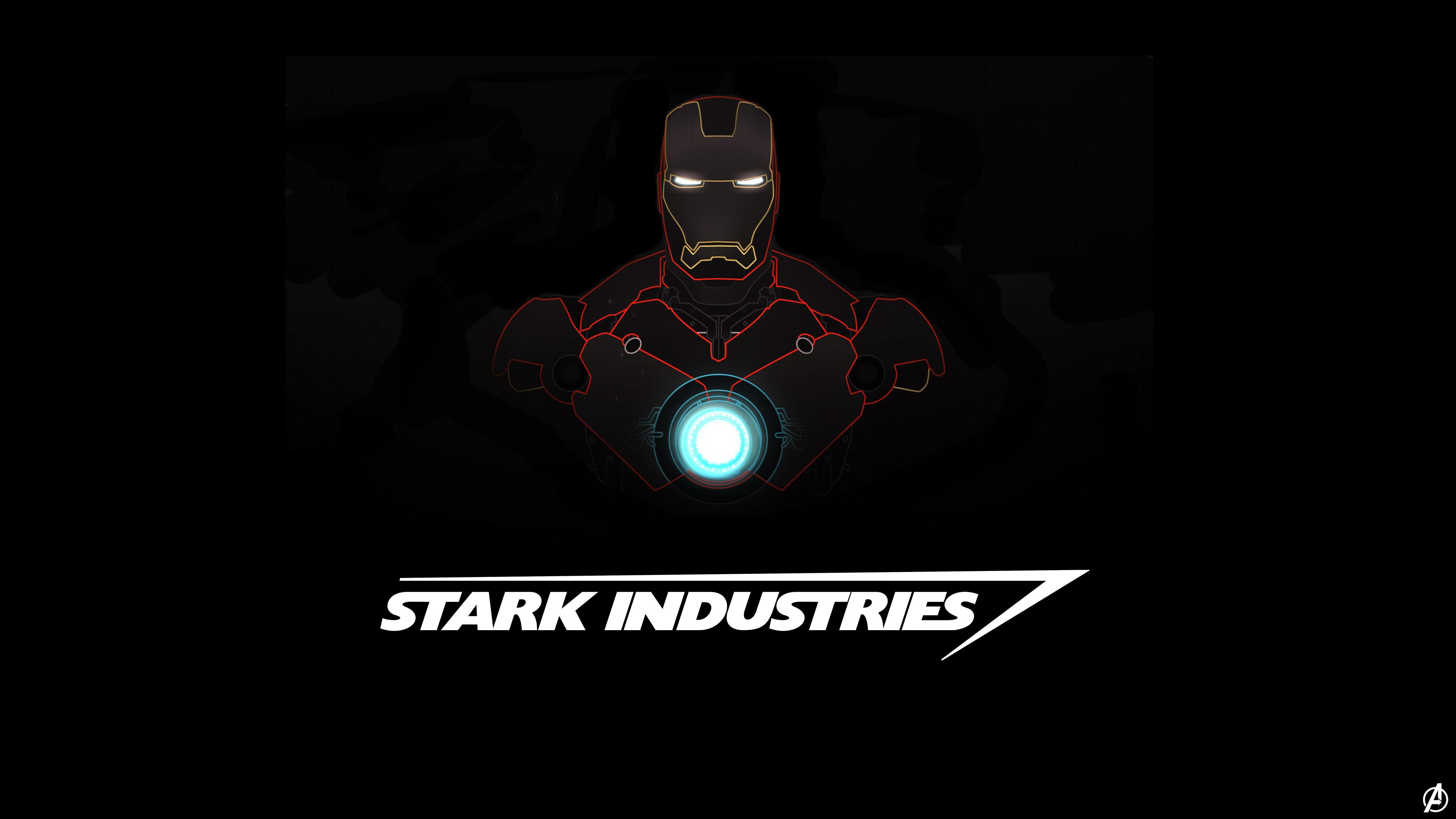Iron Man Stark Industries Hd Wallpapers Wallpaper Cave