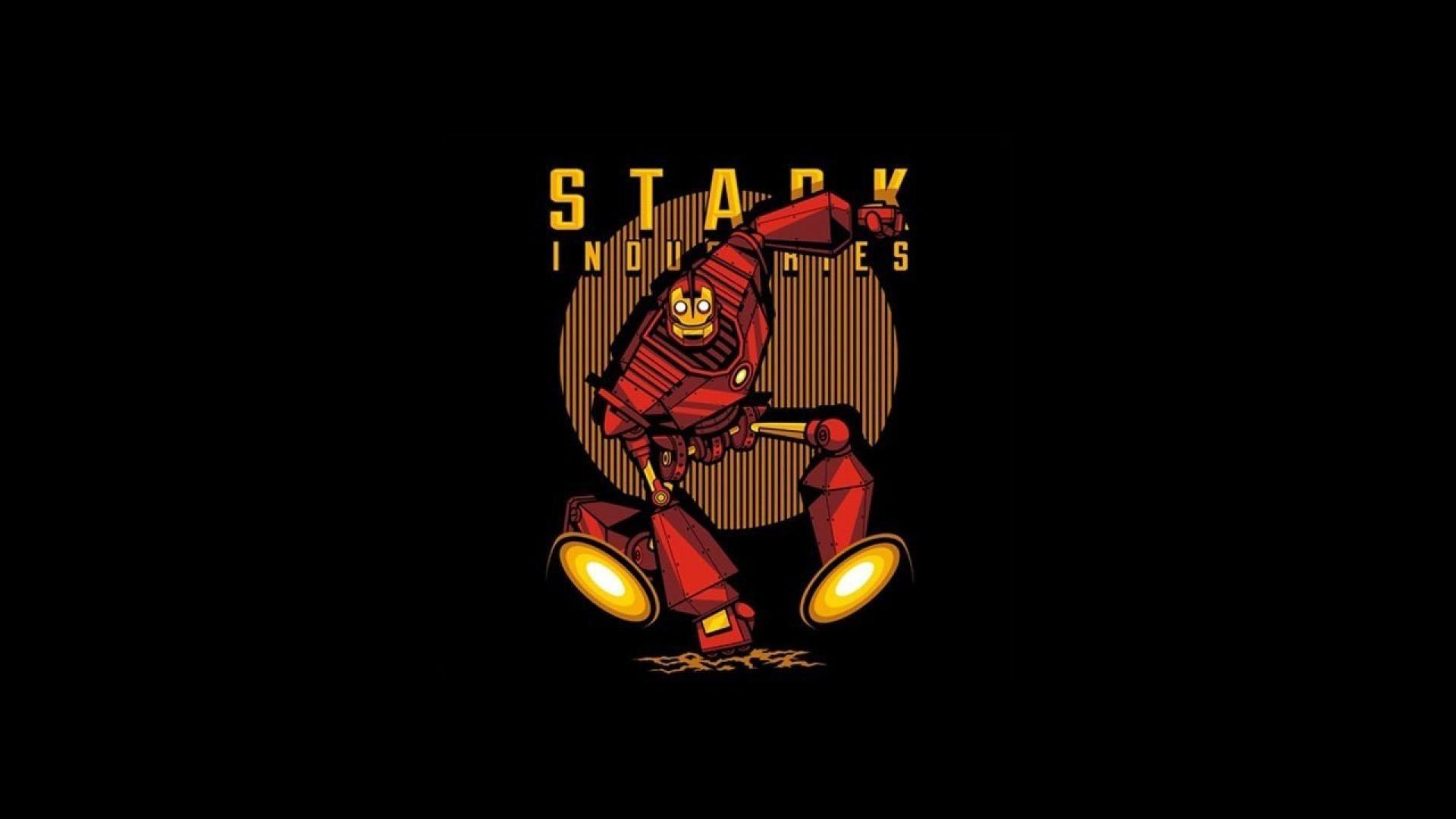 Iron man stark industries hd wallpapers wallpaper cave - Iron man cartoon hd ...