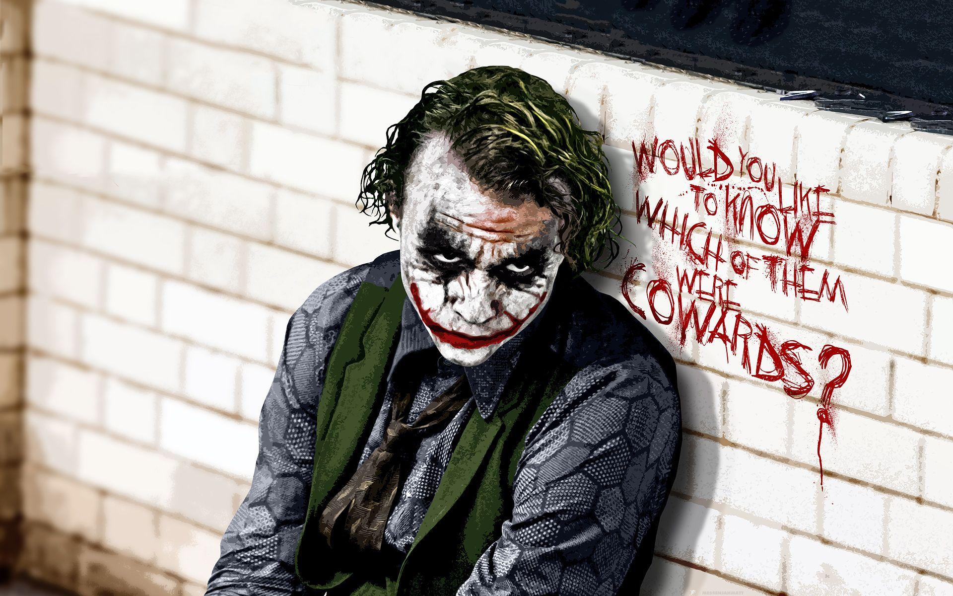 Sad Joker Wallpapers Wallpaper Cave