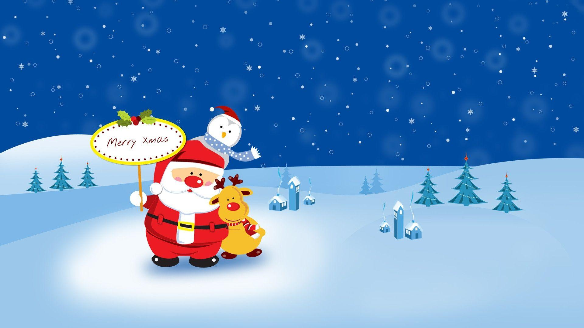 Cute Merry Christmas Wallpapers - Wallpaper Cave