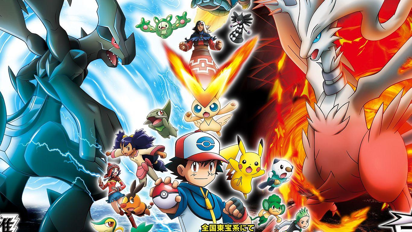 Pokemon Wallpapers Legendary Black And White 2 Wallpaper Cave