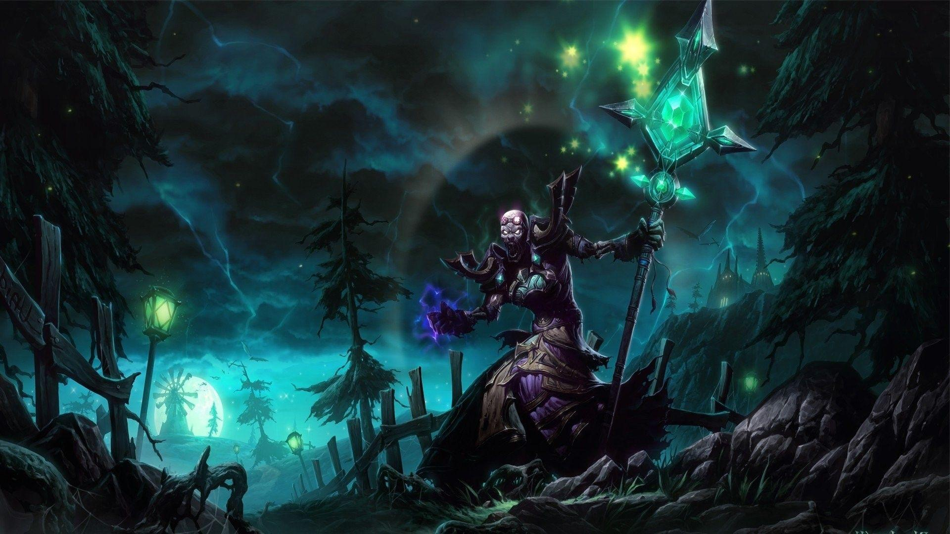 World Of Warcraft Mage Wallpapers Wallpaper Cave