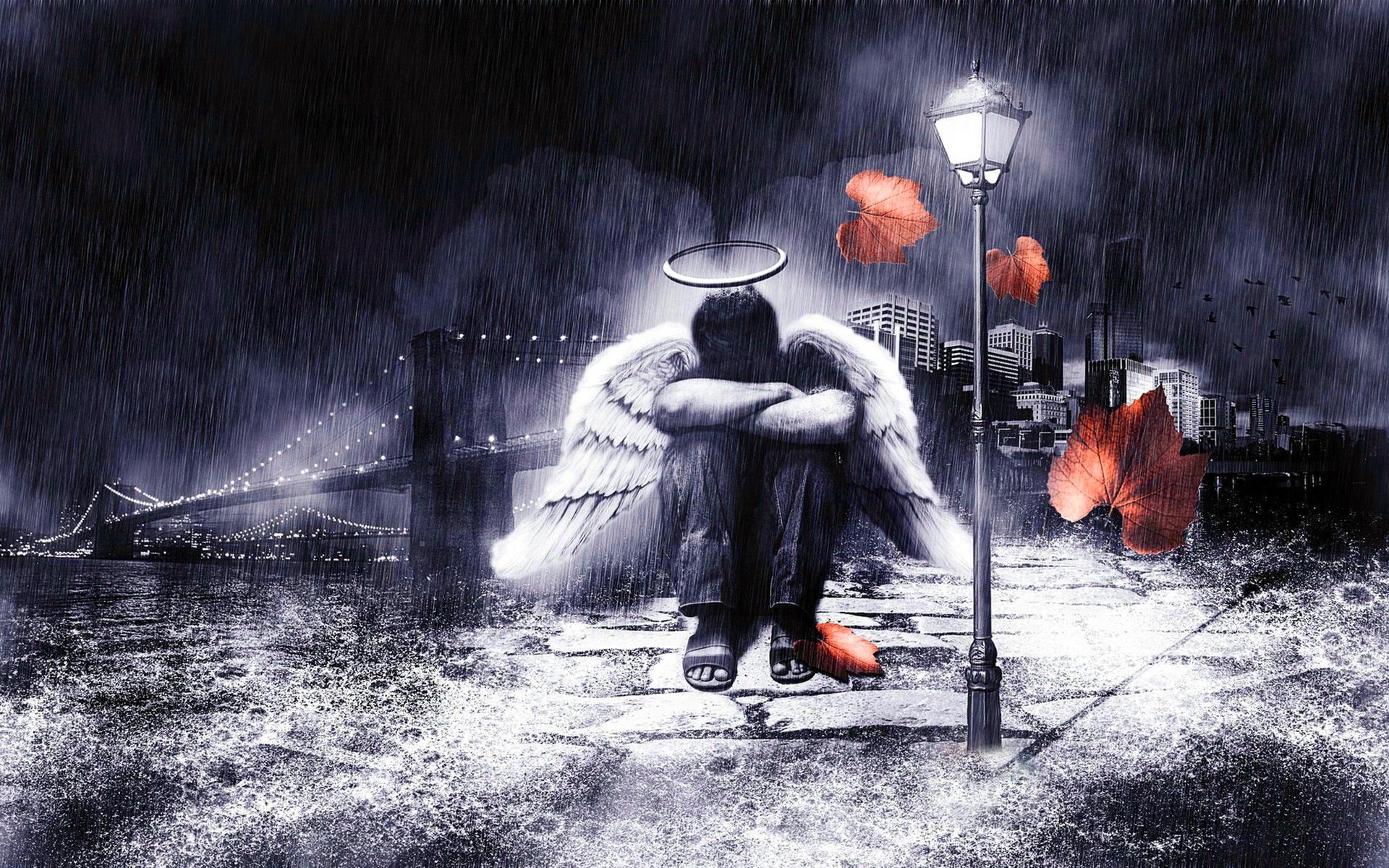 Sad Boy In Rain HD Wallpapers - Wallpaper Cave