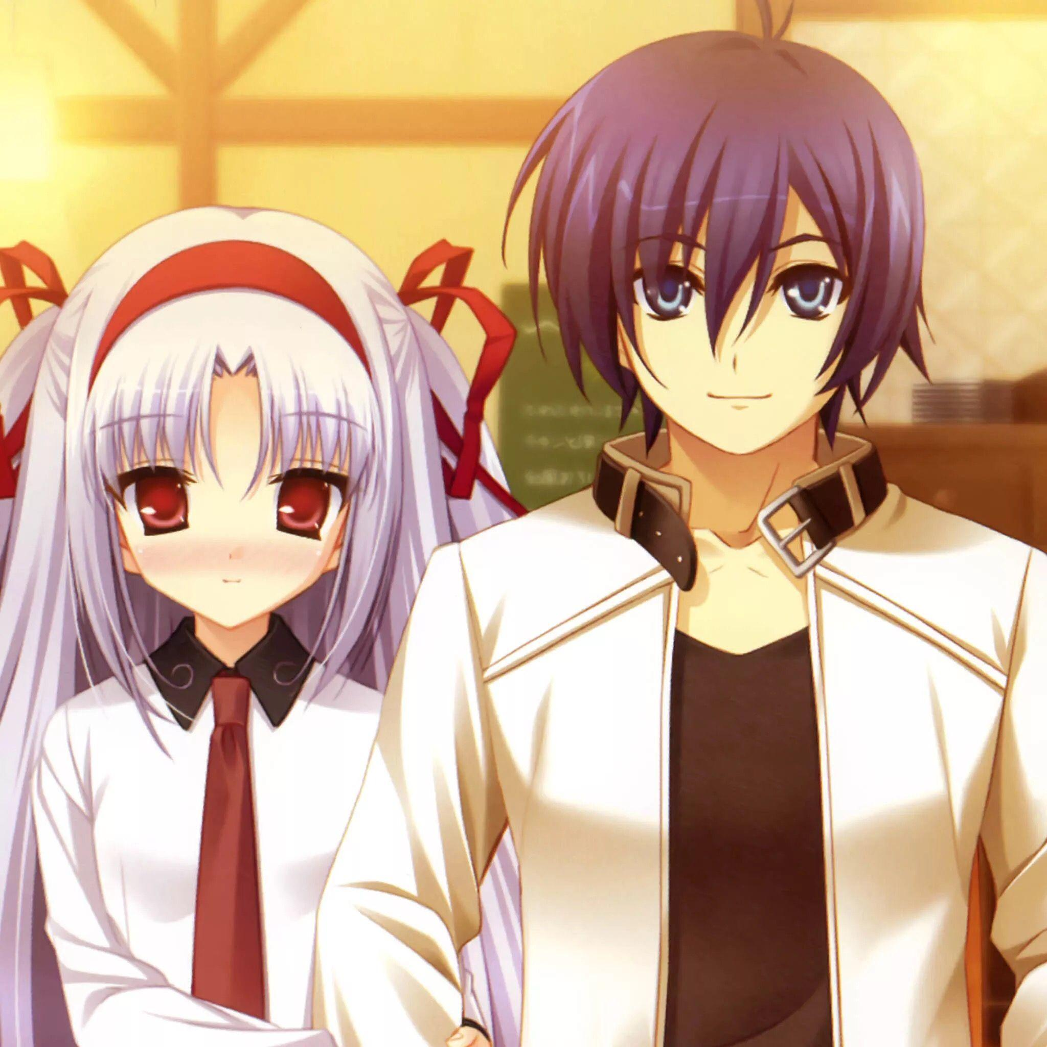 Cute Couple Anime Wallpapers - Wallpaper Cave