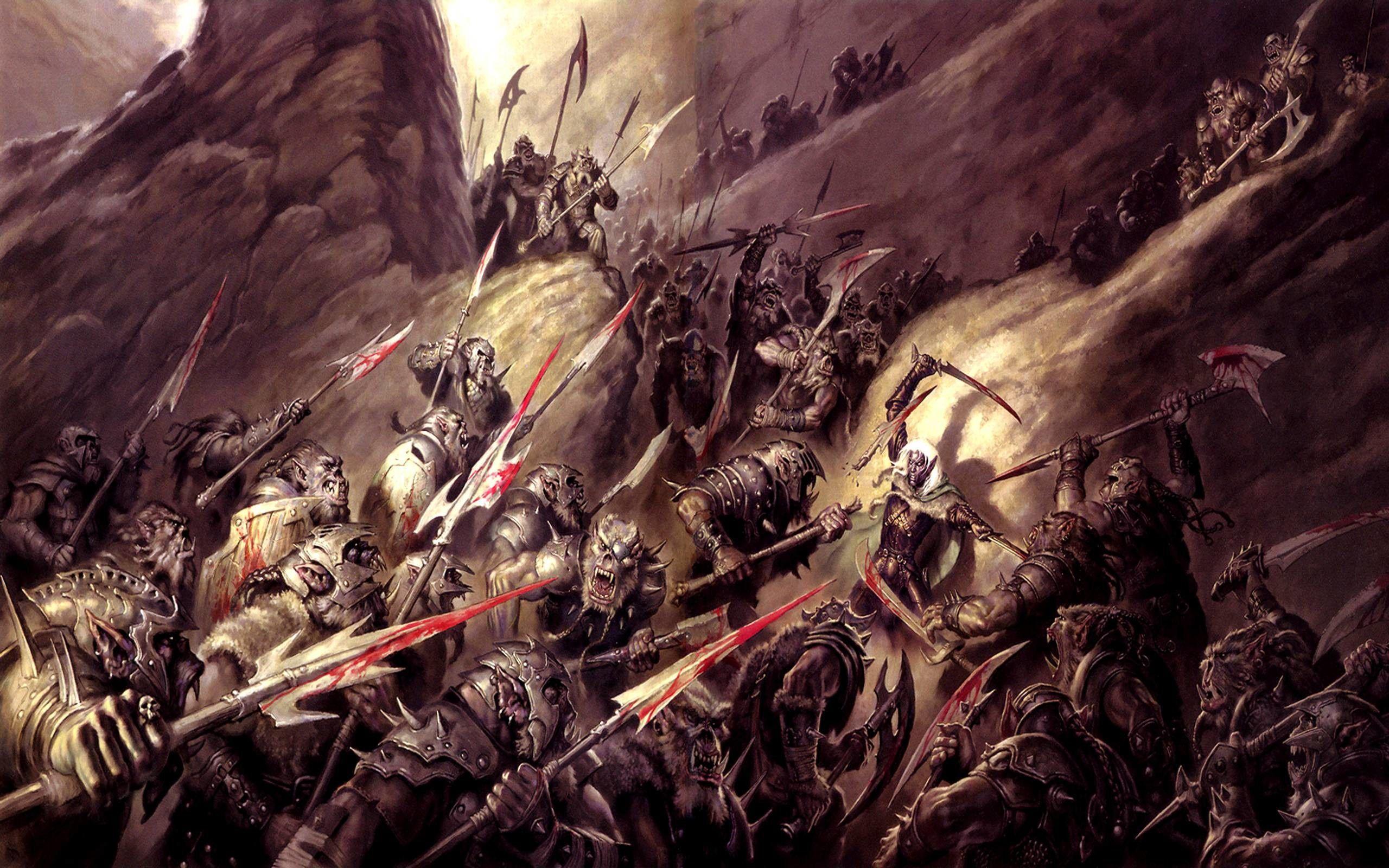 Epic Fantasy War Wallpapers Wallpaper Cave