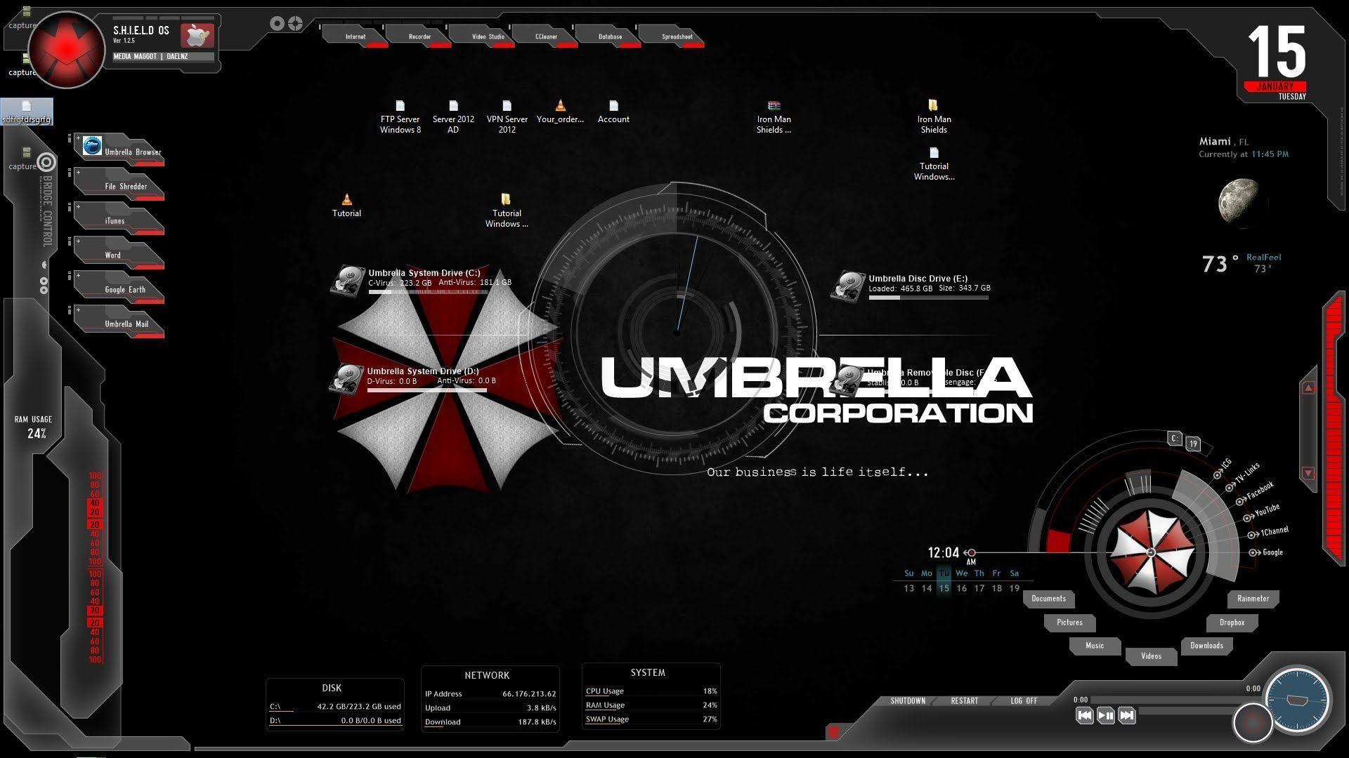 Umbrella Login Wallpapers - Wallpaper Cave