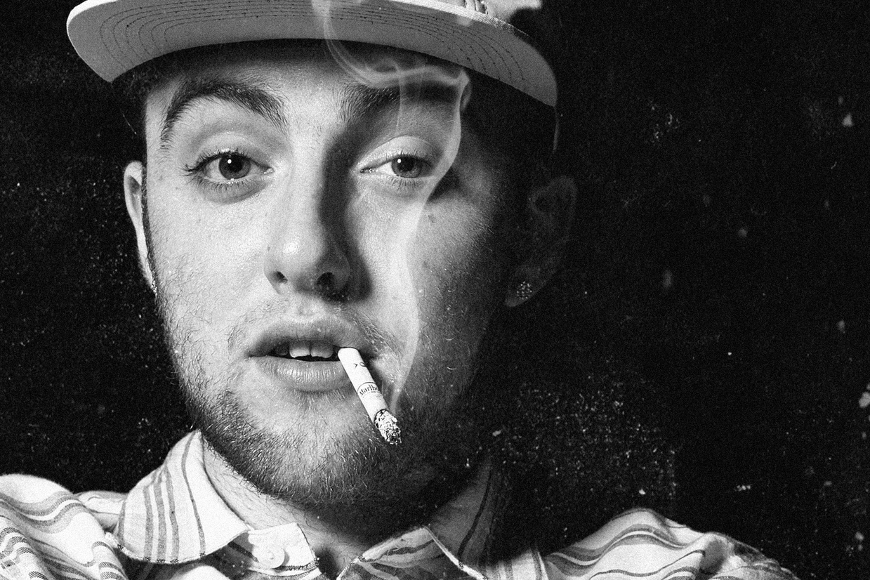 Mac Miller black and white wallpapers