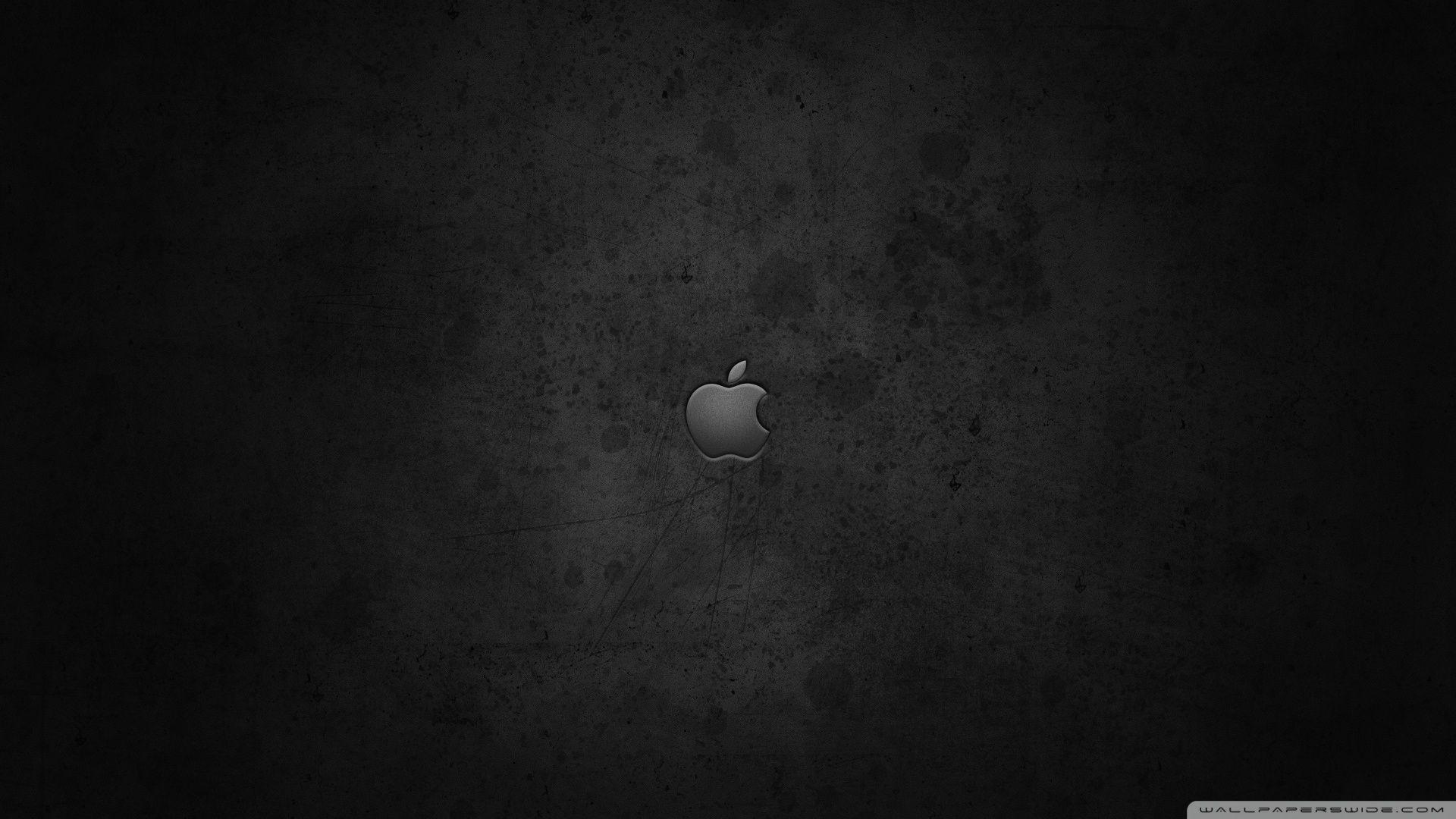 Apple Logo On Dark Backgrounds ❤ 4K HD Desktop Wallpapers for 4K