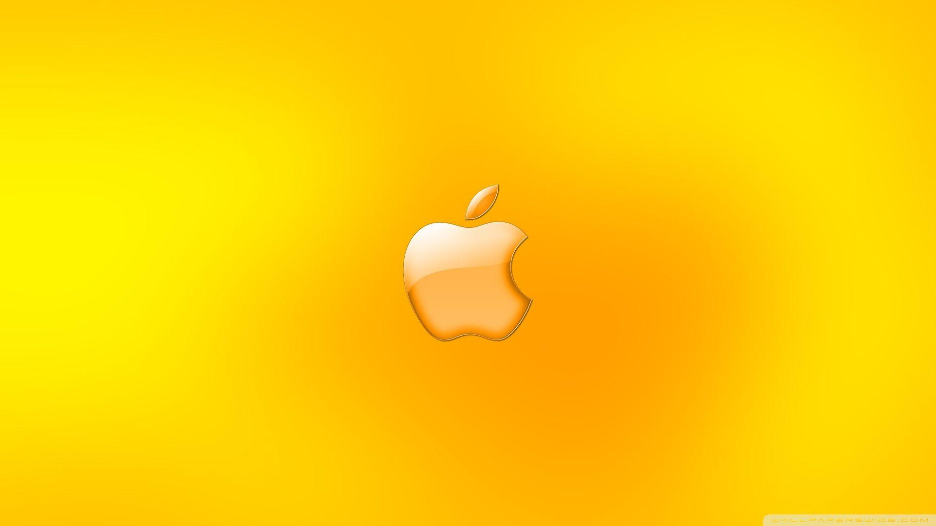 Apple Logo Gold ❤ 4K HD Desktop Wallpapers for 4K Ultra HD TV