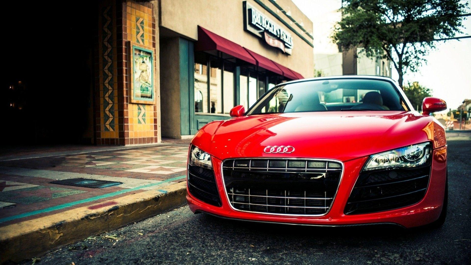 Red Audi R8 HD Wallpapers 1080p Super Cars | Only in my Dreams ...