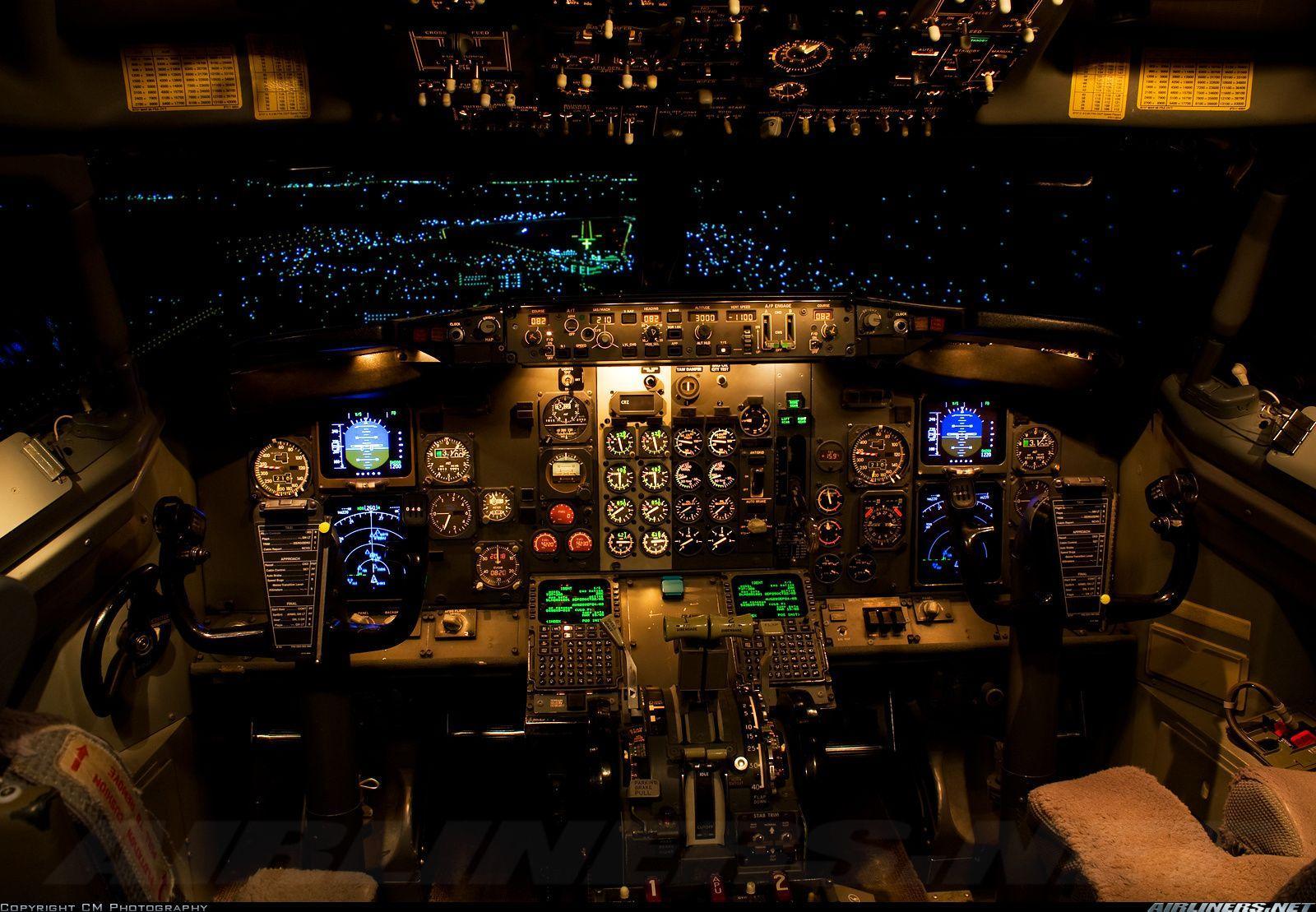 Cockpit Wallpaper