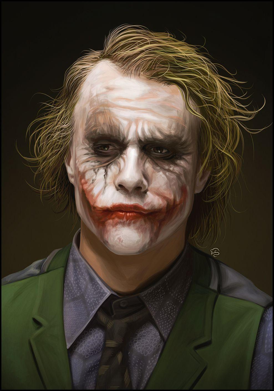 Cell Heath Ledger Joker Wallpaper
