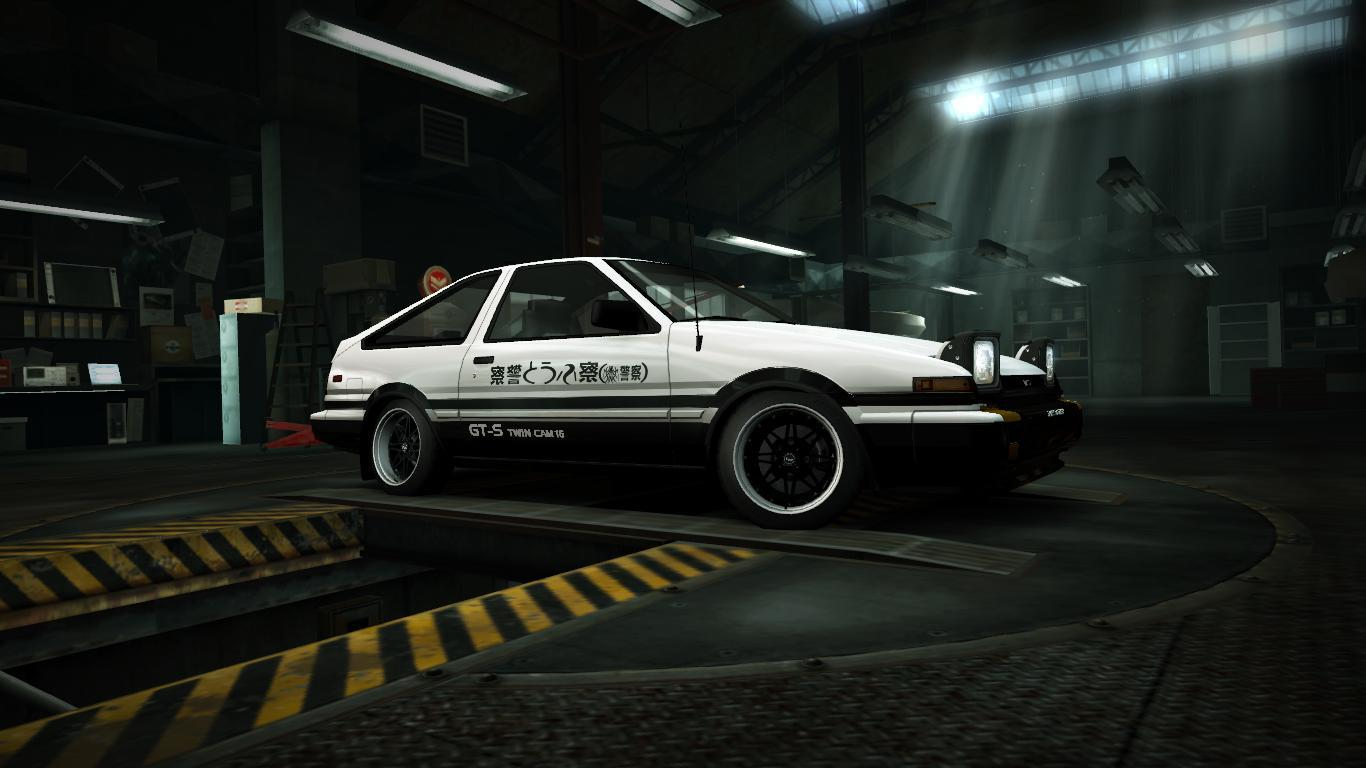 Toyota Throwback The AE86