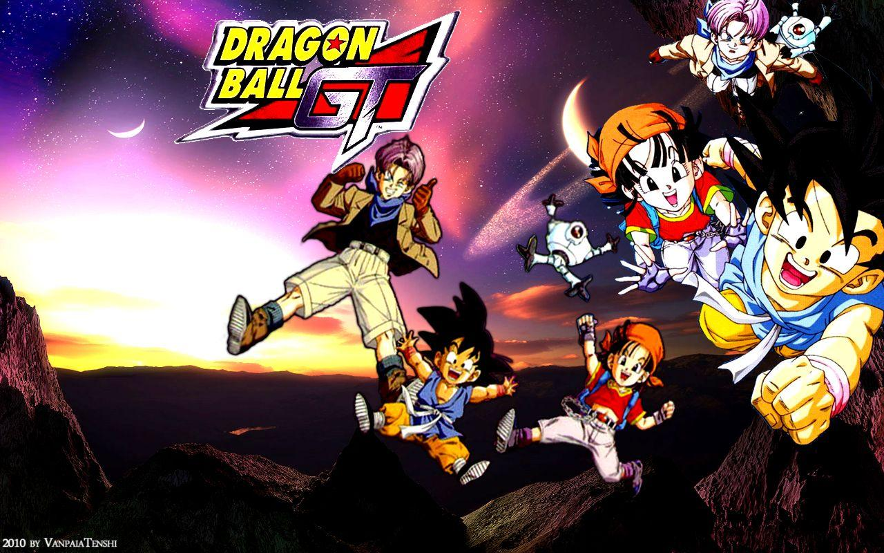 Wallpapers Dragon Ball Gt Wallpaper Cave