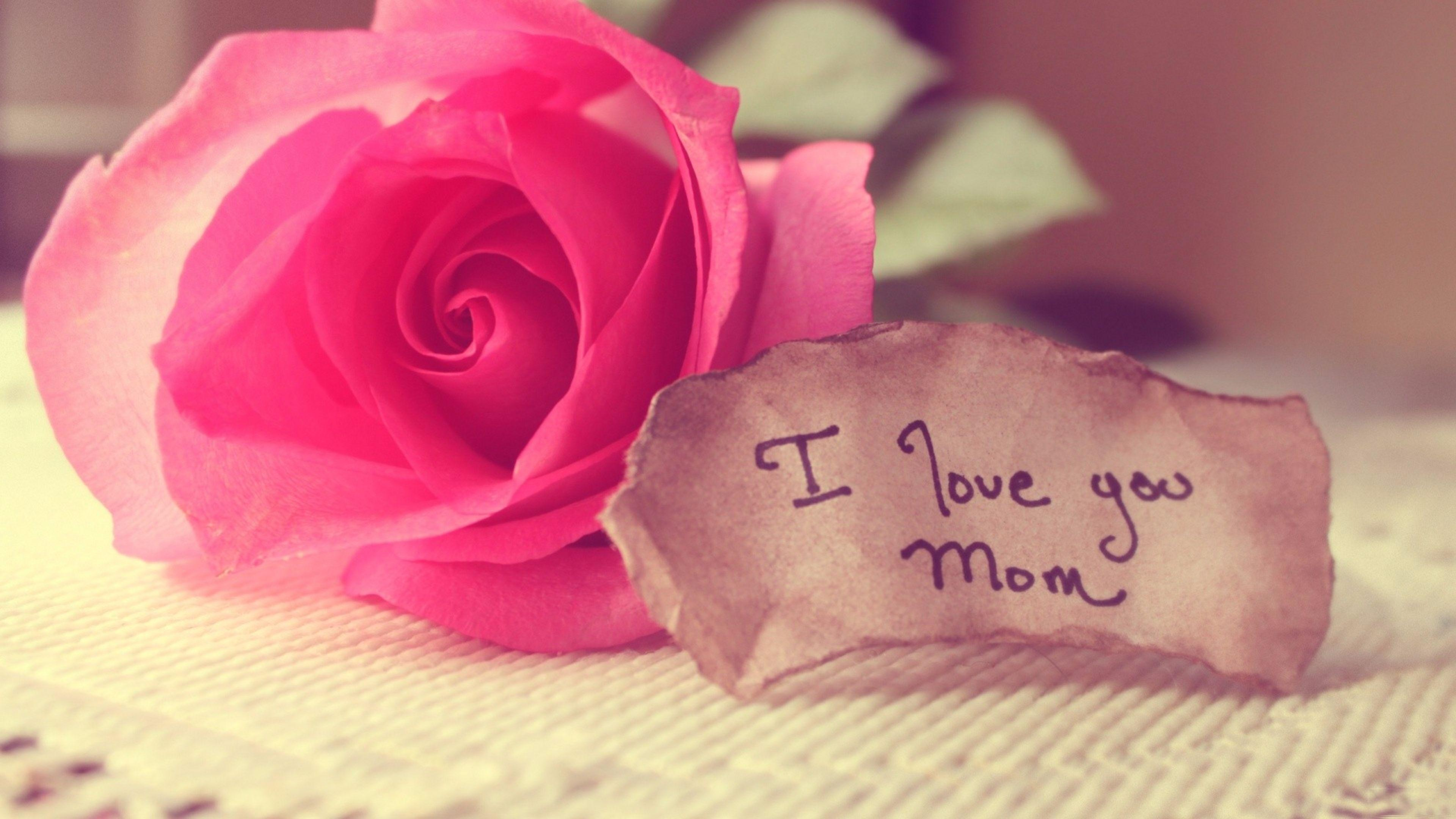 To Mom 2016 4K Love Wallpapers