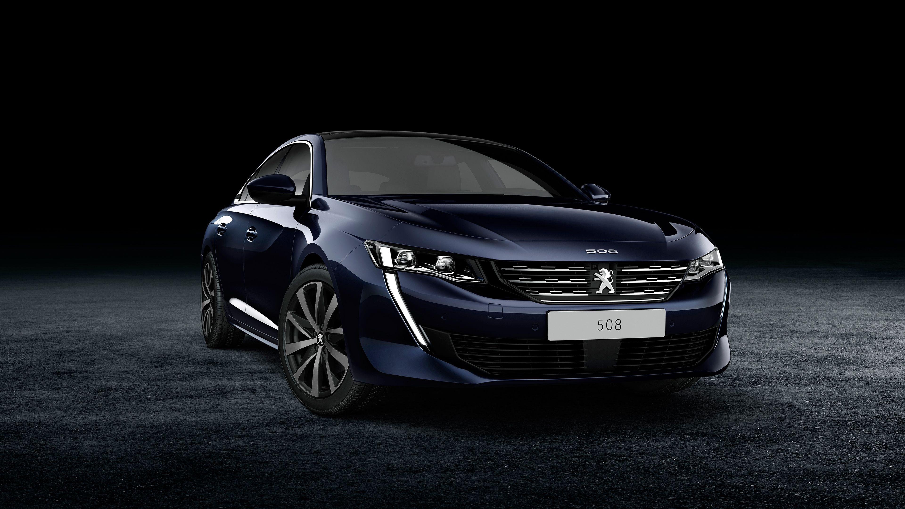 2018 Peugeot 508 4K Wallpapers