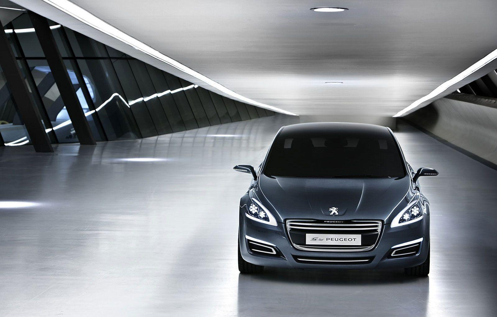 First official image of Peugeot 508 production series