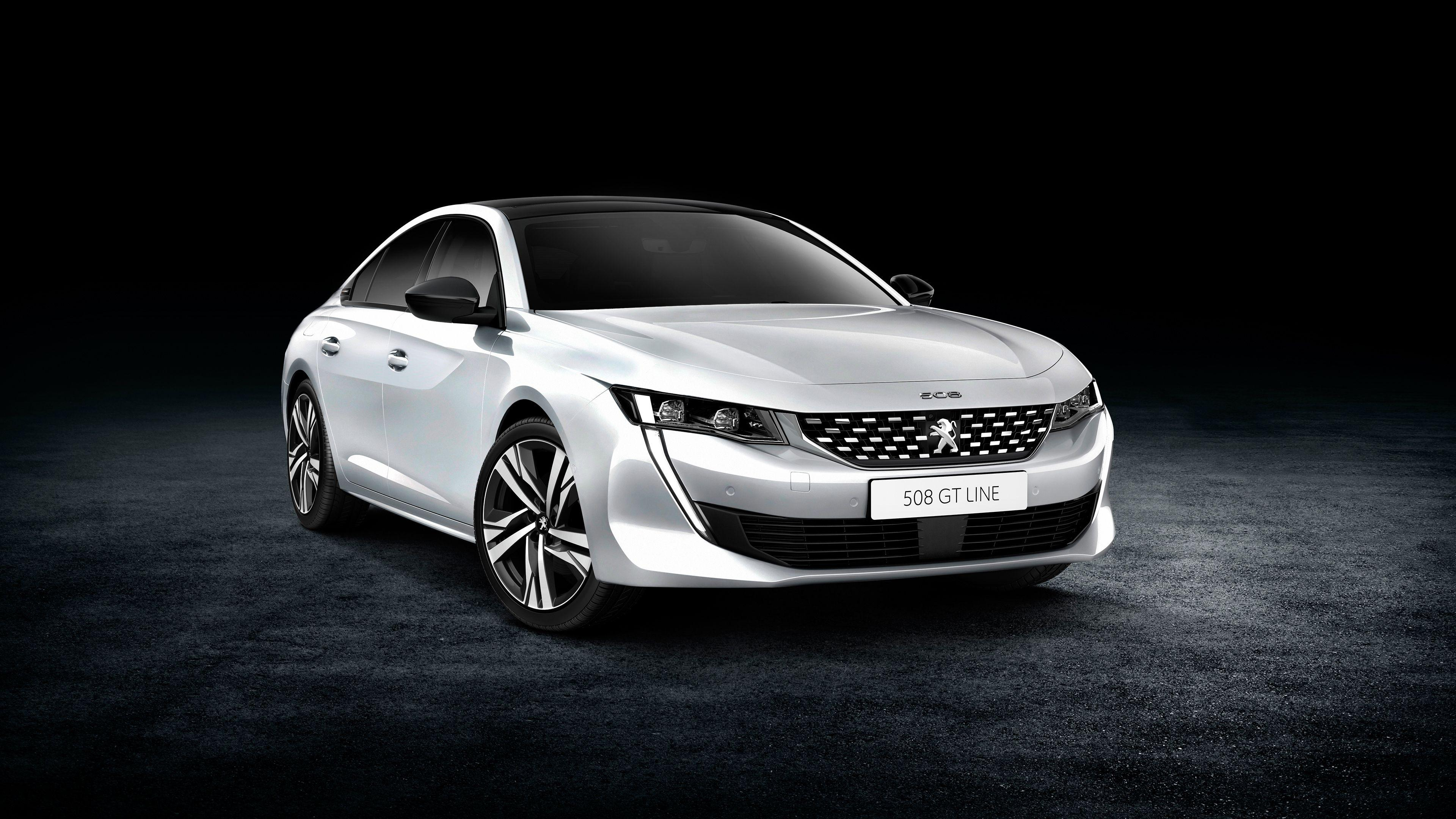 2018 Peugeot 508 GT Line 4K Wallpapers