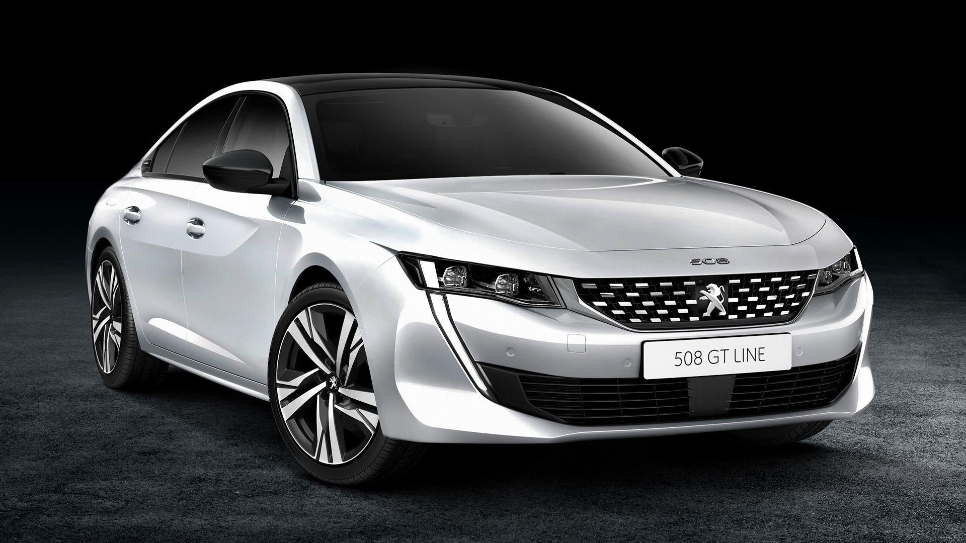 2018 Peugeot 508 GT Line Full HD Wallpapers and Backgrounds Image