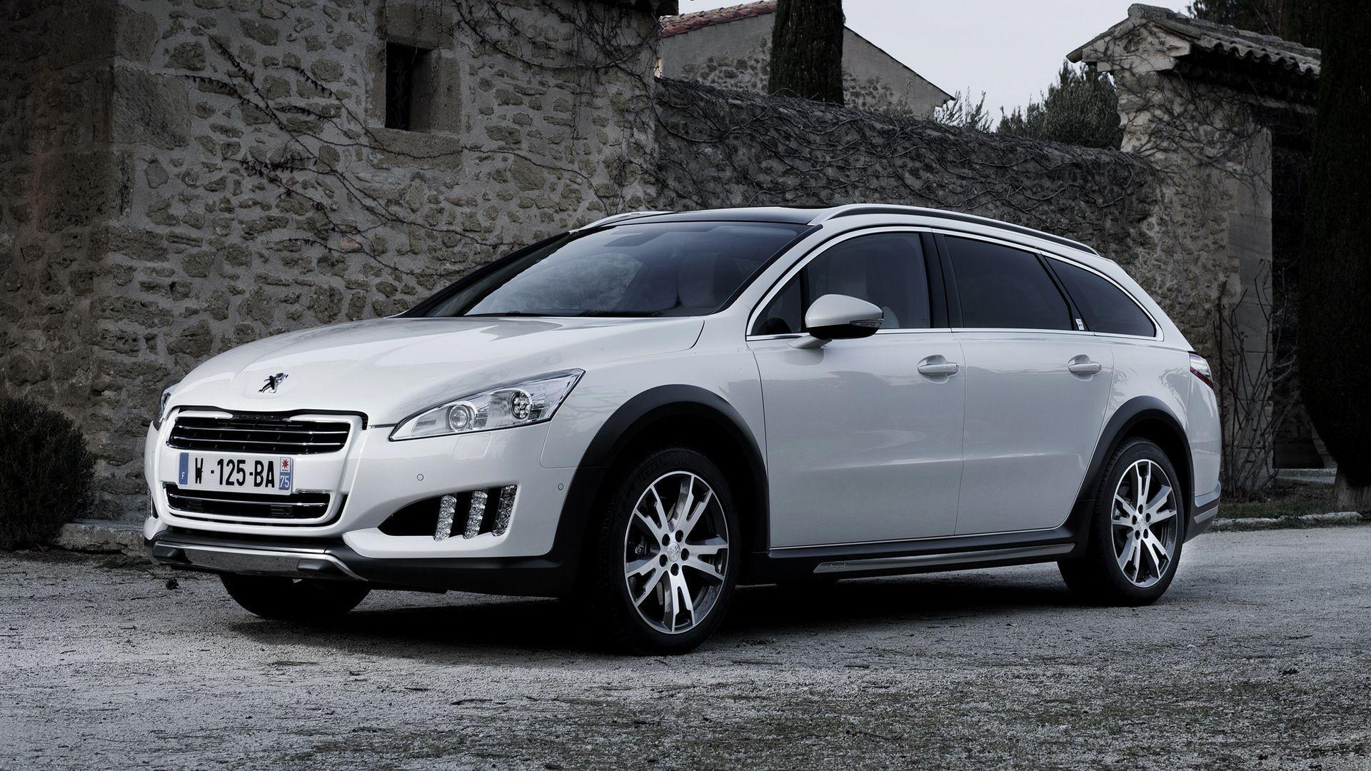 2012 Peugeot 508 RXH Full HD Wallpapers and Backgrounds Image