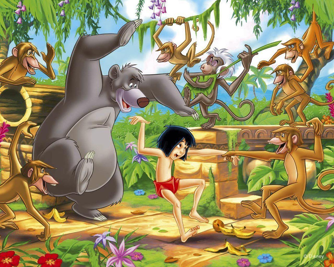 Giving jungle book its beat