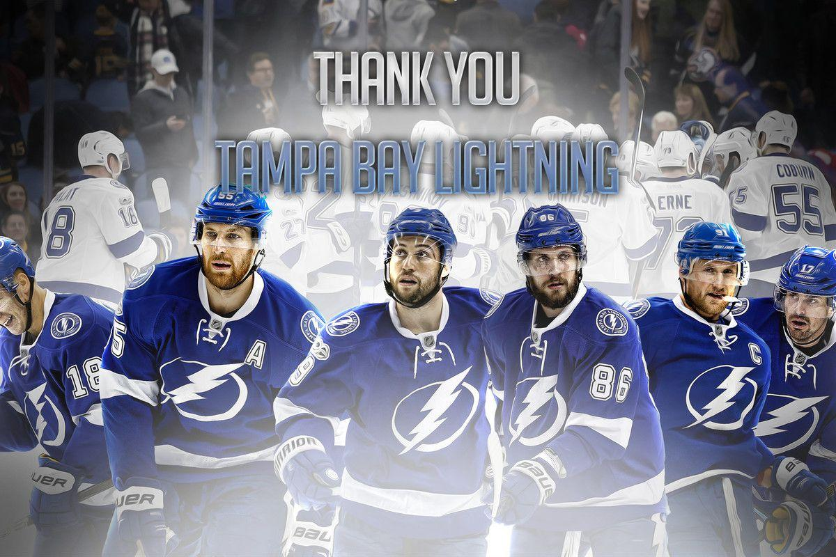 "Thank you Tampa Bay Lightning"" wallpapers download"