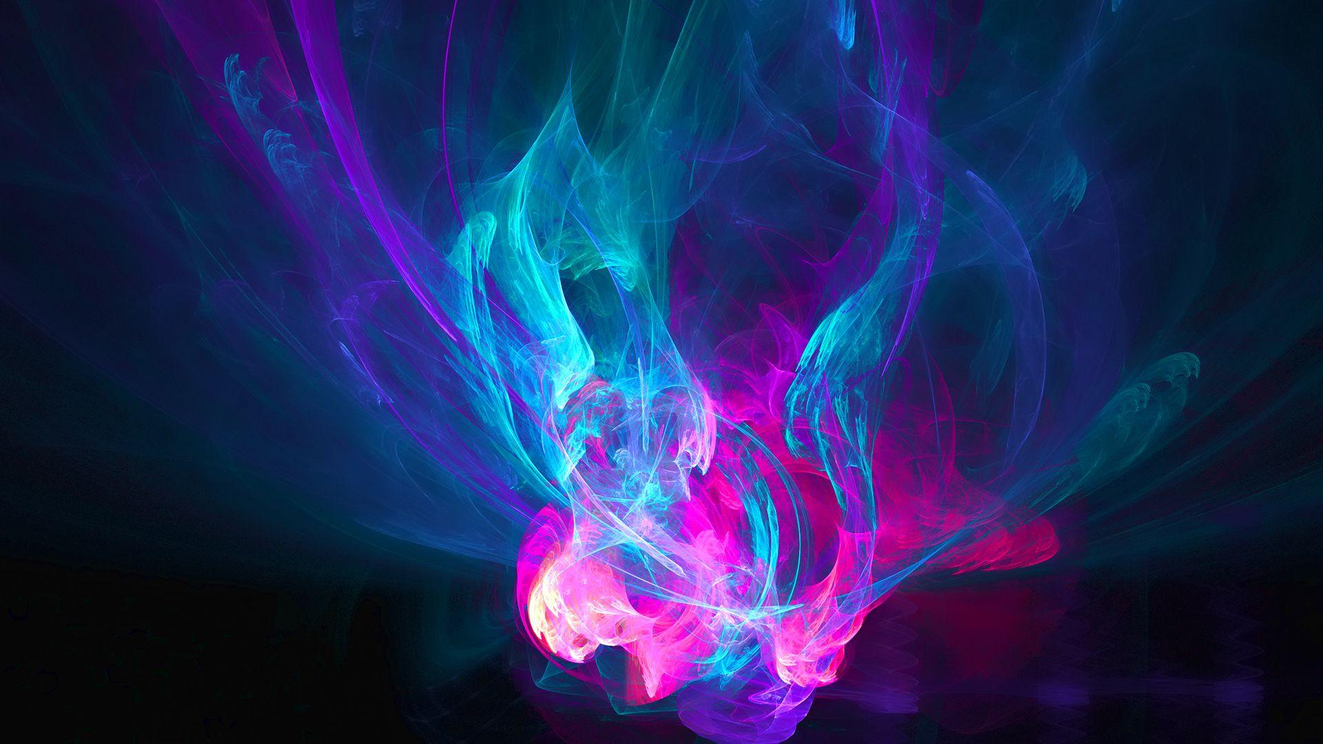 Cool Abstract Purple Fire Wallpapers HD