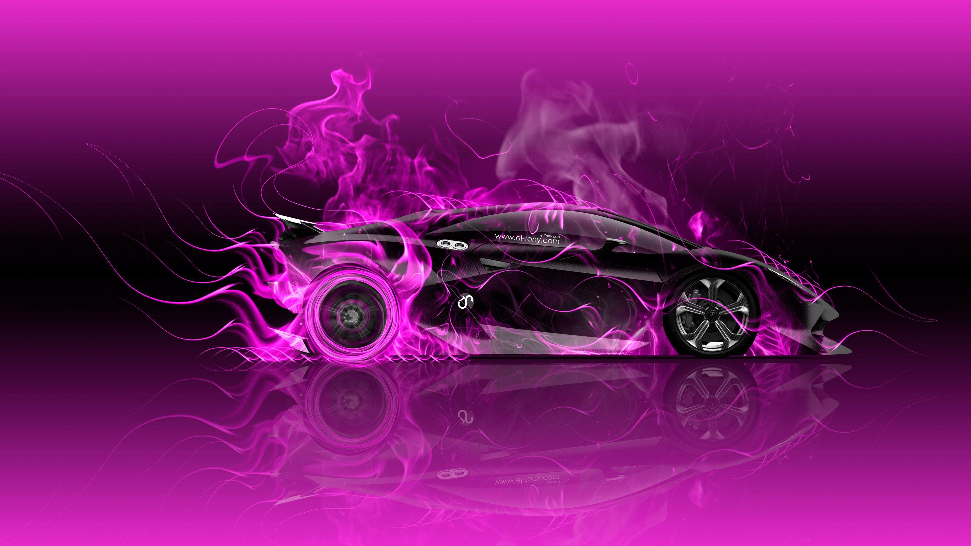 Purple Fire Wallpapers - Wallpaper Cave