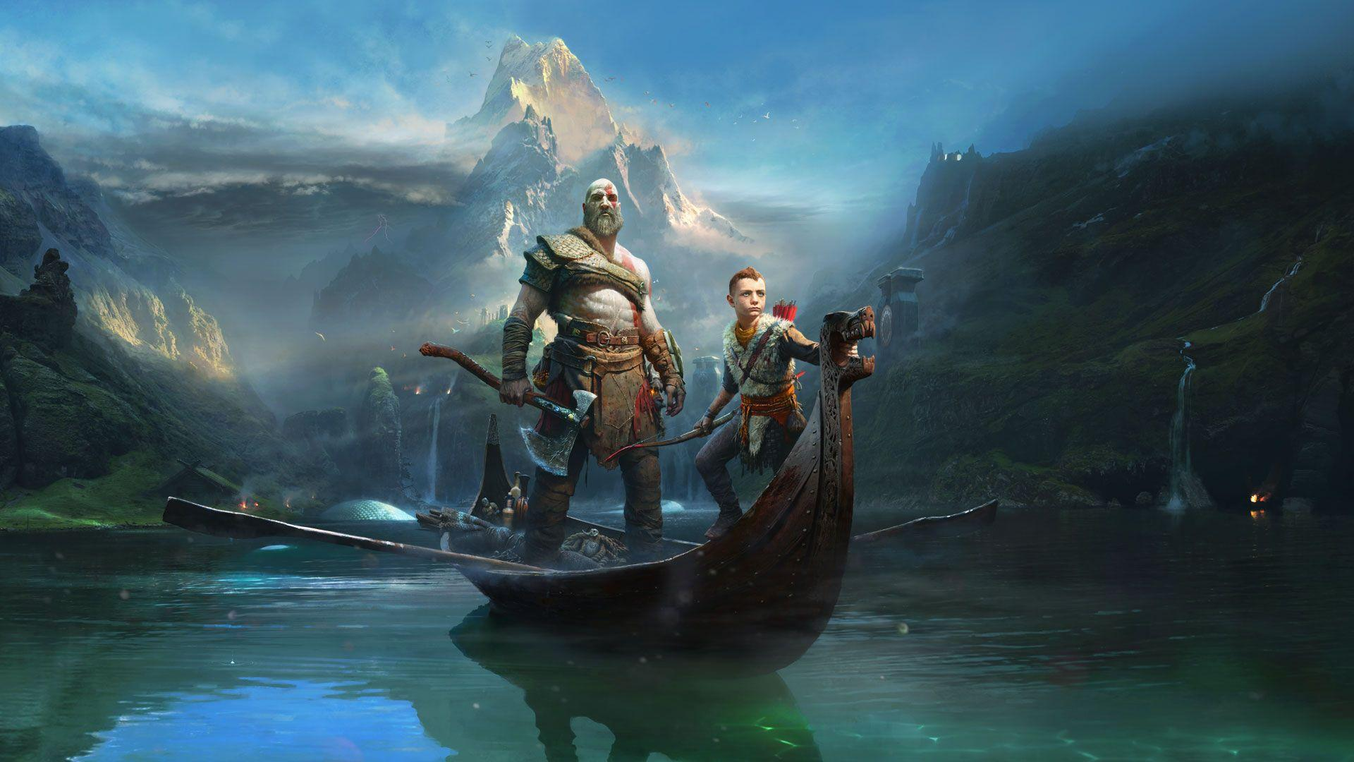 Kratos Atreus God of War 2018 Wallpapers