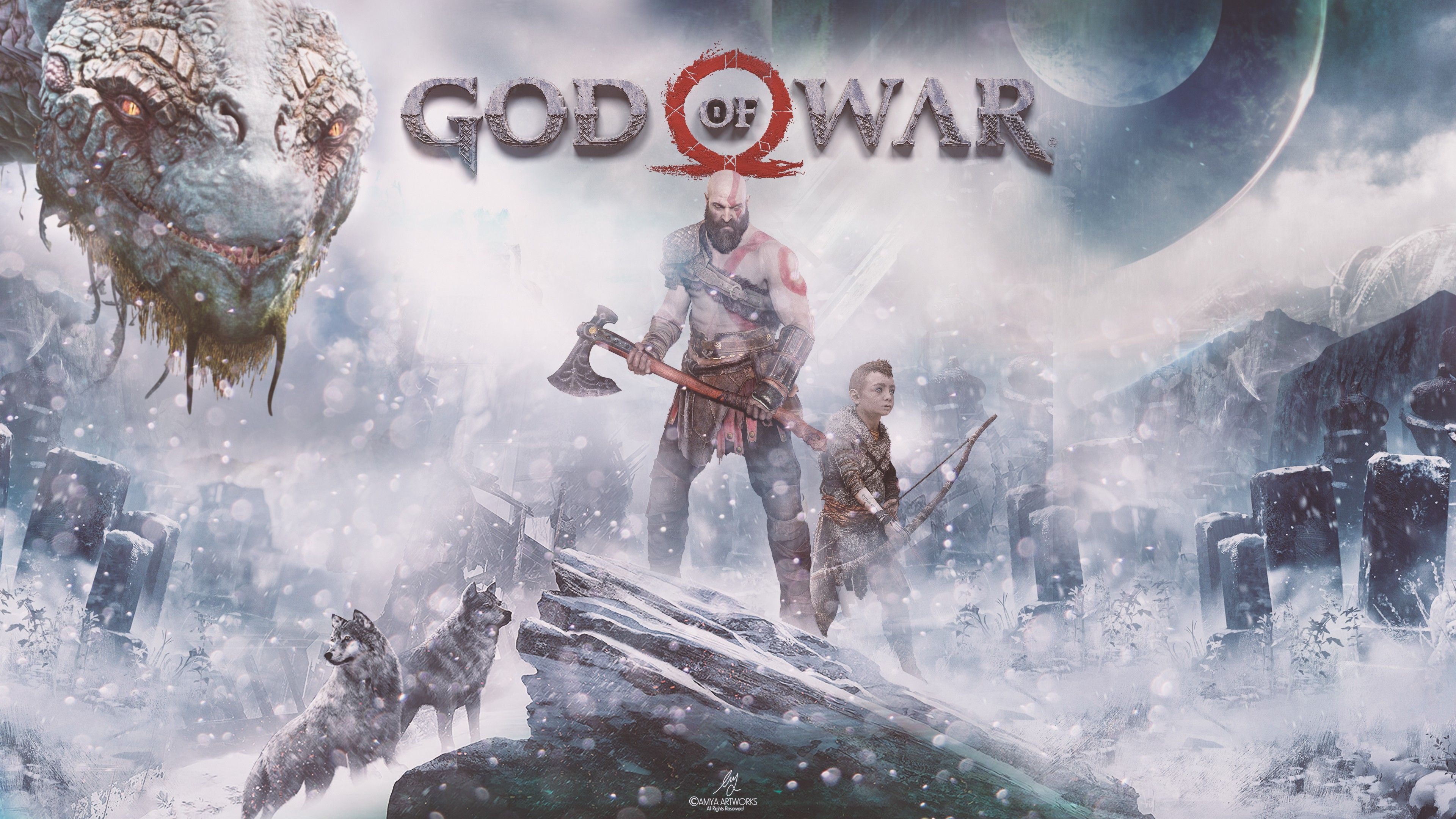 God Of War 2018 Wallpapers Wallpaper Cave