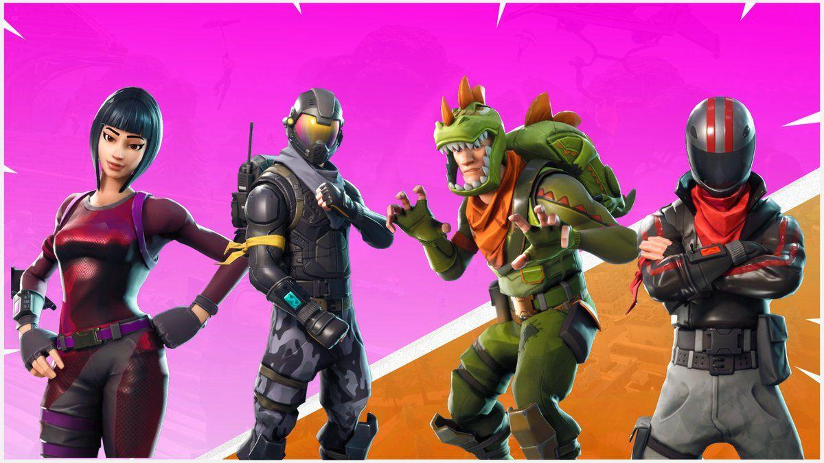 Fortnite Battle Royale Servers & Updates on Twitter: NEW Skins and