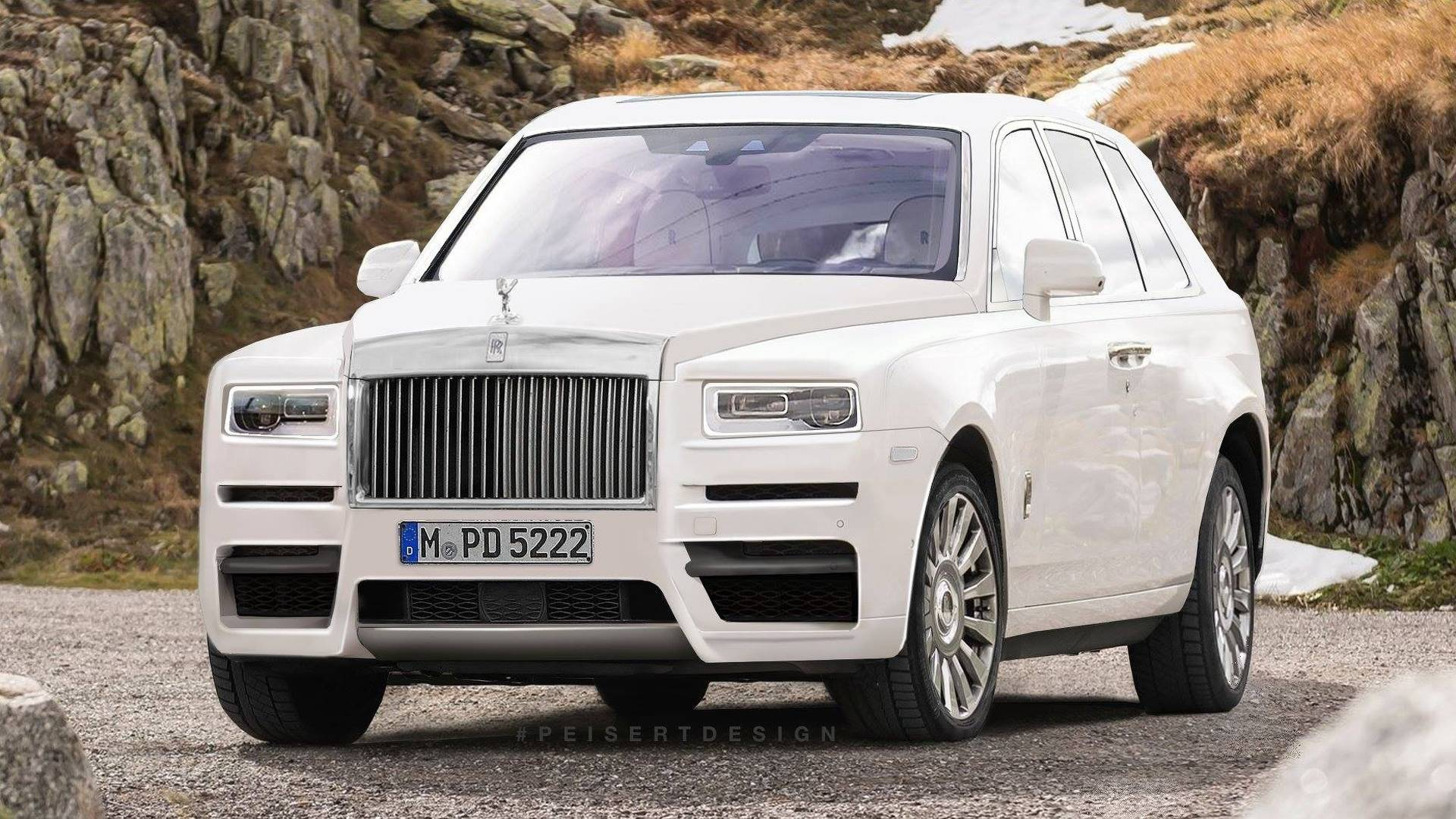 Rolls Royce Cullinan Wallpapers Wallpaper Cave